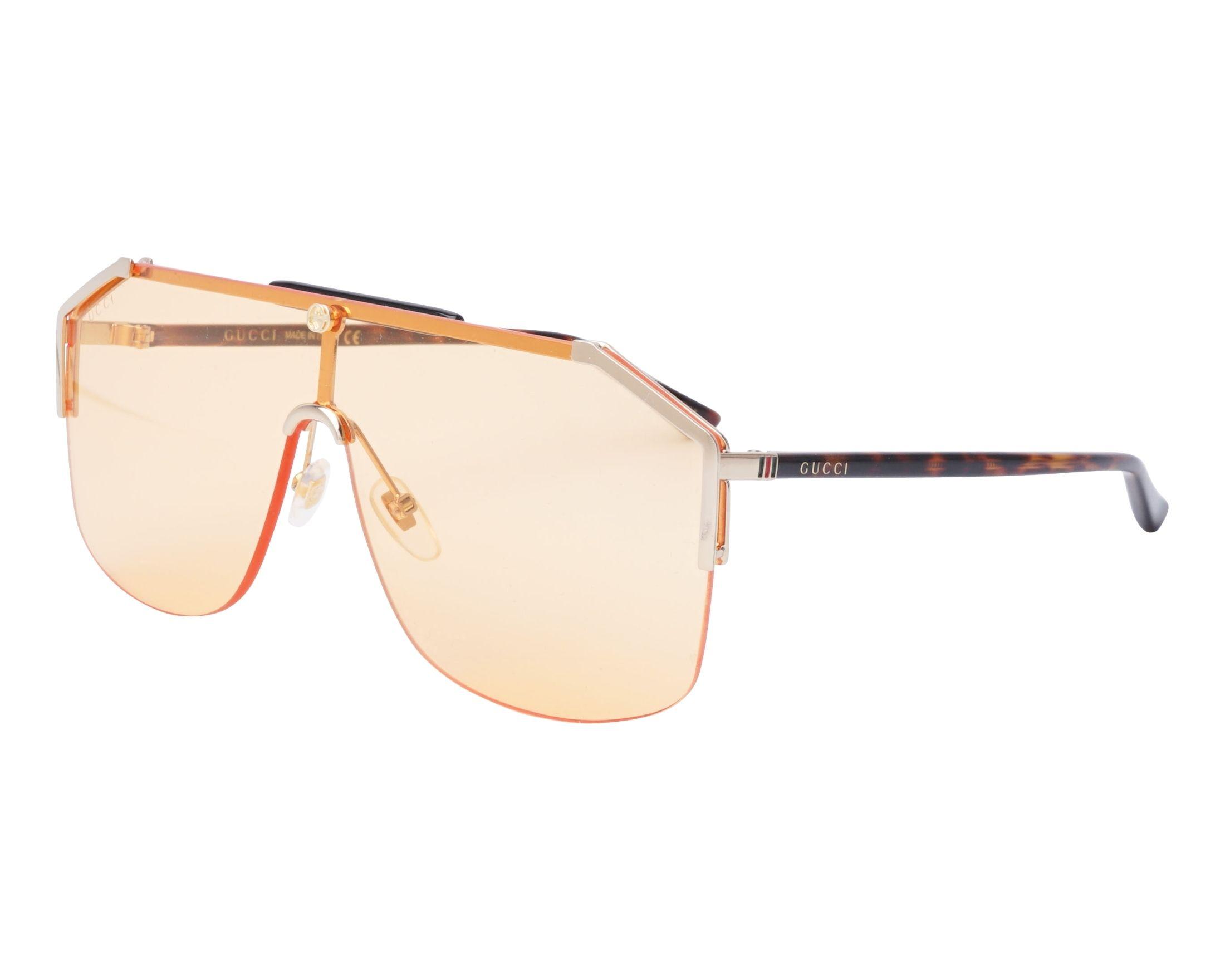 bfab6292a2d95 Gafas de sol gucci oro havana vista jpg 2200x1760 Lentes gucci