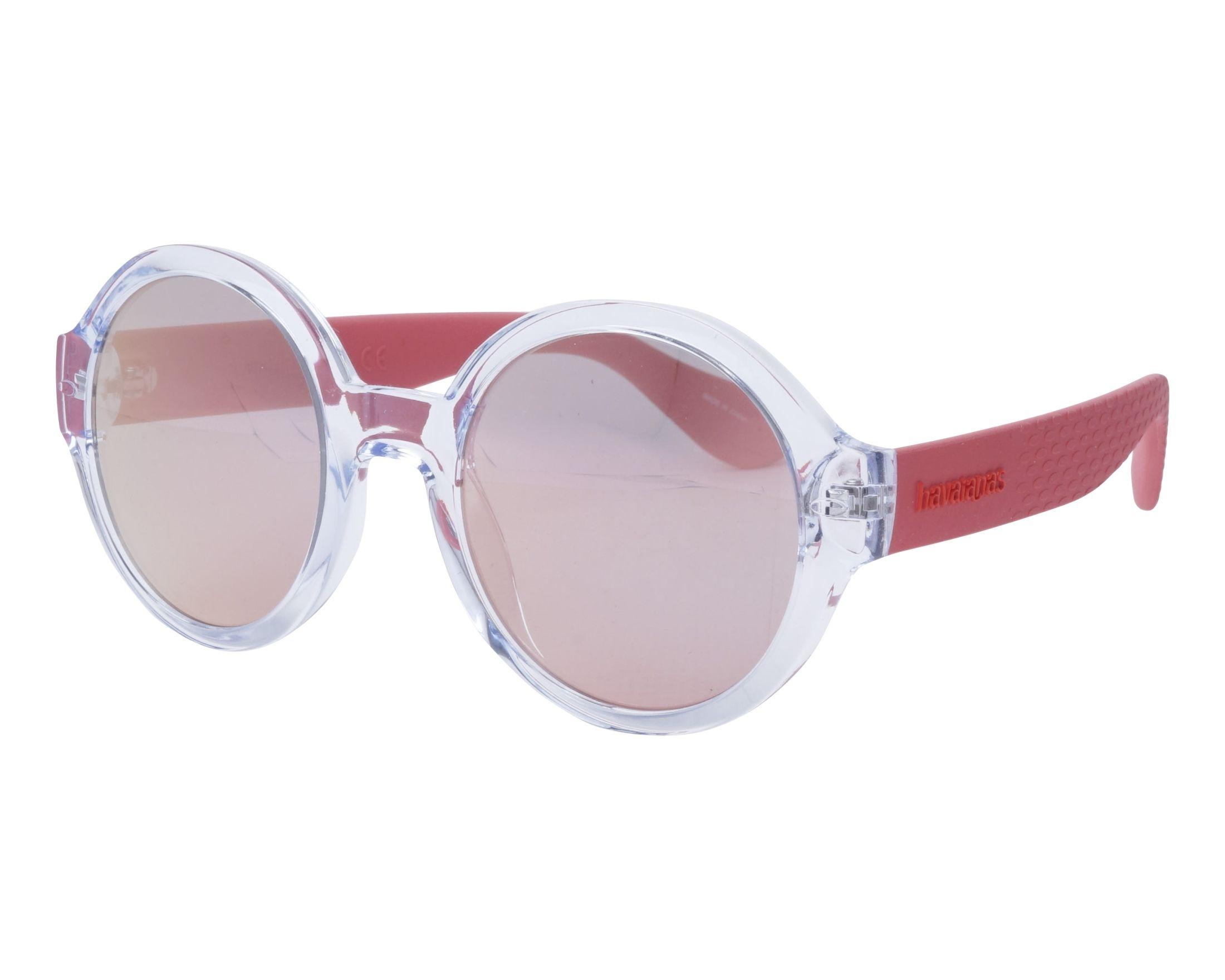 53eb975a36 Gafas de sol Havaianas FLORIPA-M 6OC0J 51-23 Cristal Rosa vista de perfil