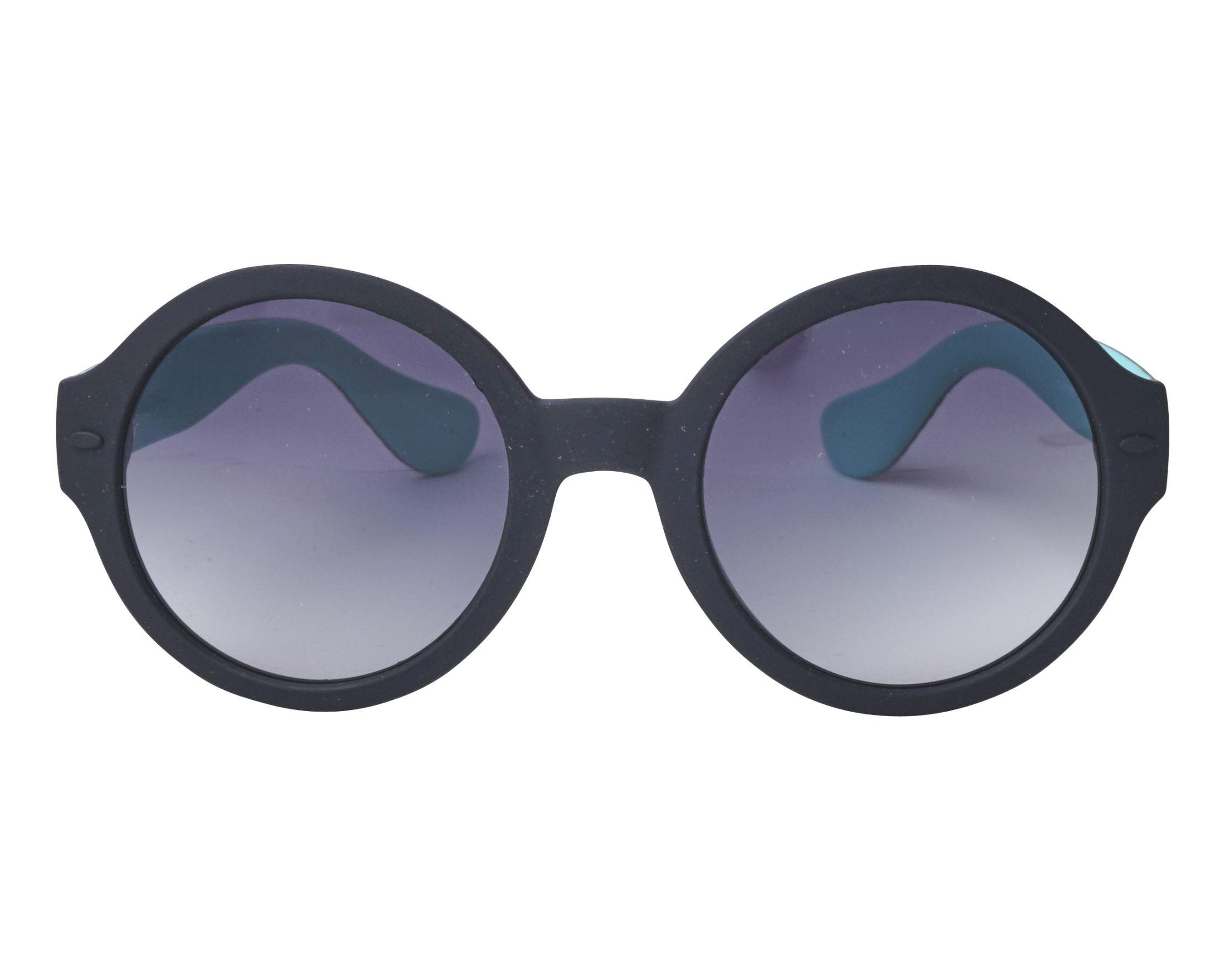 23e69517b7 Gafas de sol Havaianas FLORIPA-M EL99O 51-23 Negra Verde vista de frente