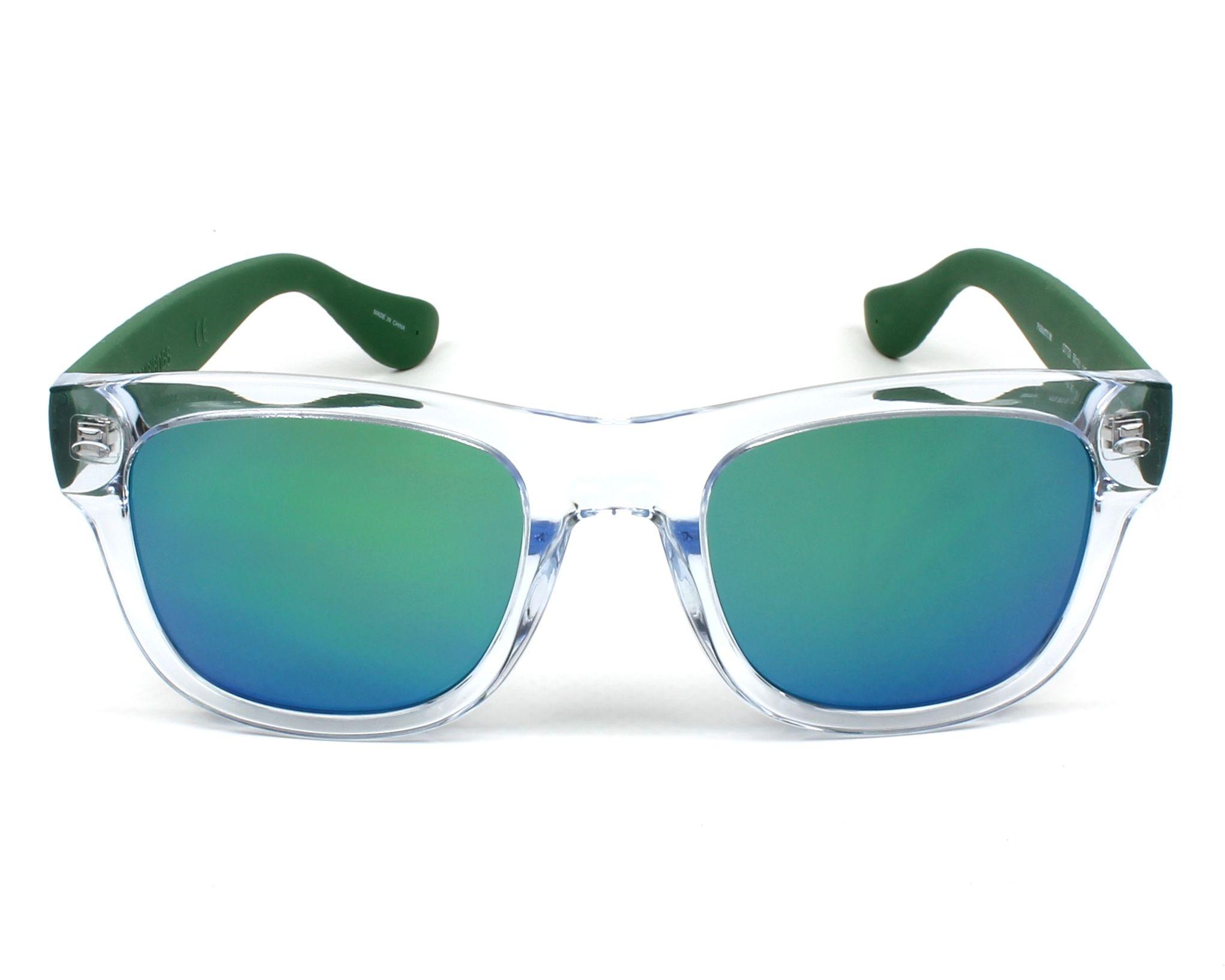 3a3bba85a5 Gafas de sol Havaianas PARATY-M QTT/Z9 50-21 Cristal Verde vista