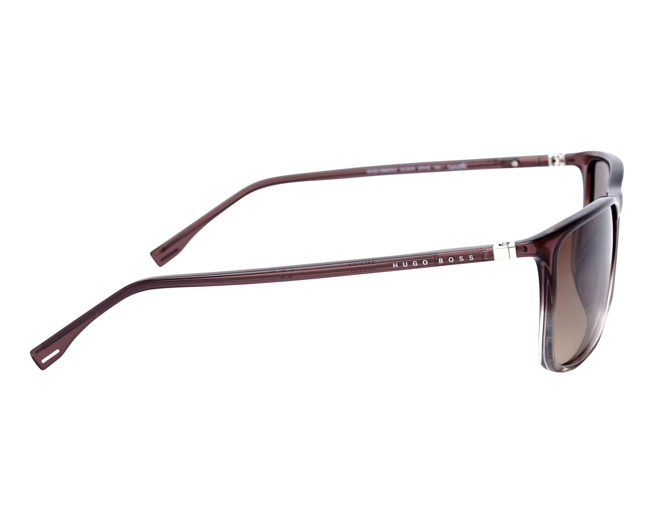 2e8f78a5047 Gafas de sol Hugo Boss BOSS-0665-N-S NUXHA 57-16 Marrón Cristal