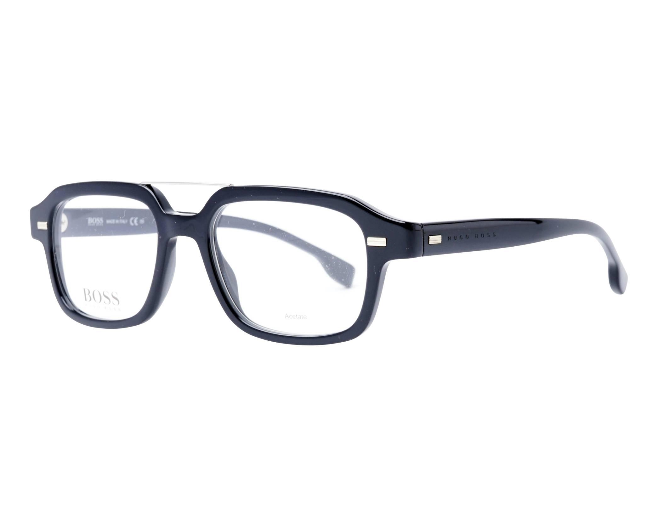 f72585600 Gafas Graduadas Hugo Boss BOSS-1001 807 51-18 Negra vista de perfil