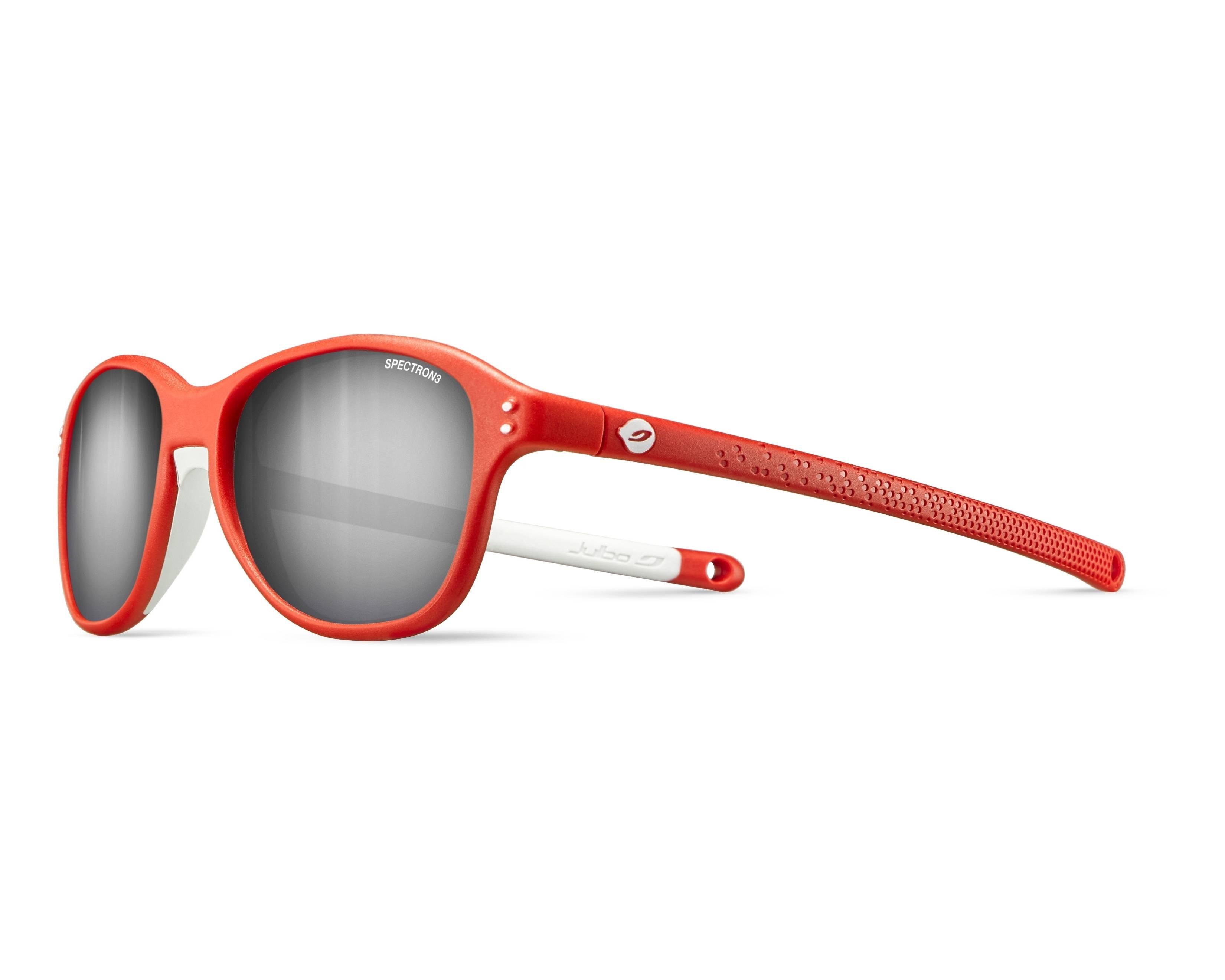 541066689d Gafas de sol Julbo J524 1113 43-14 Rojo Blanco vista de perfil