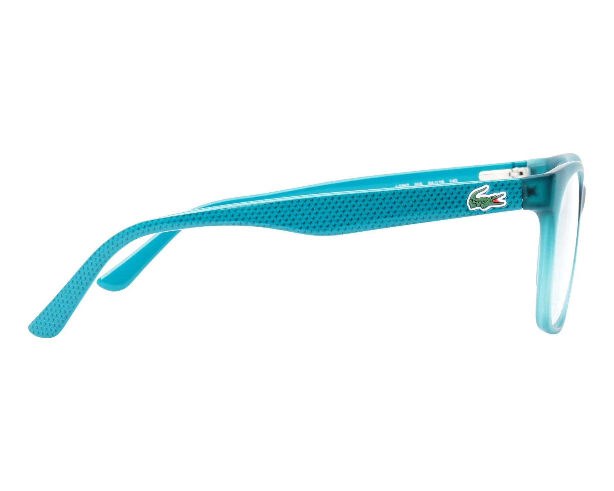 63715e0c7a Gafas Graduadas Lacoste L-2767 315 54-16 Verde Verde vista lateral