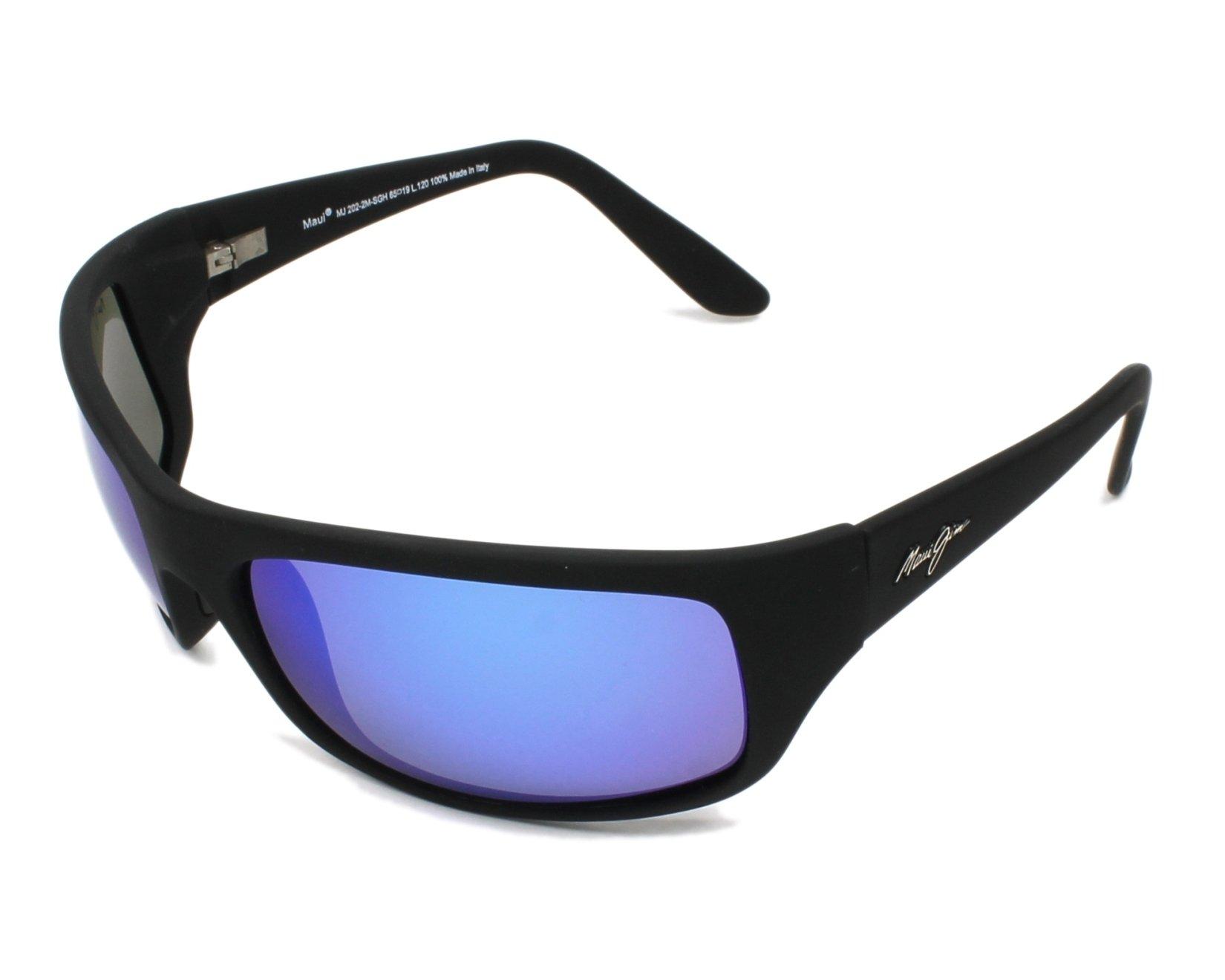 115d6855e7 Gafas de sol Maui Jim B-202 2M 65-19 Negra vista de perfil