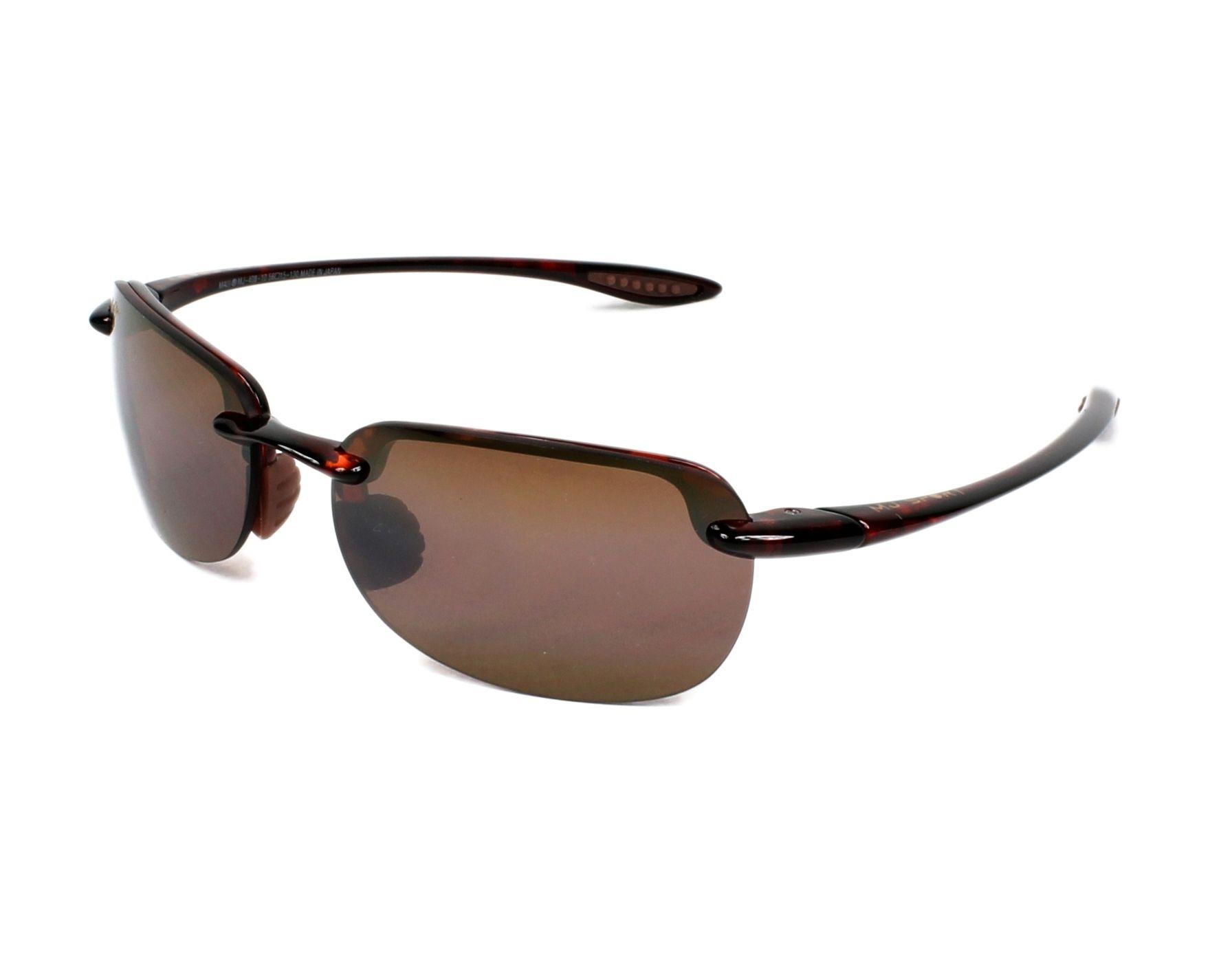 877a50276a Gafas de sol Maui Jim H-408 10 56-15 Havana vista de perfil