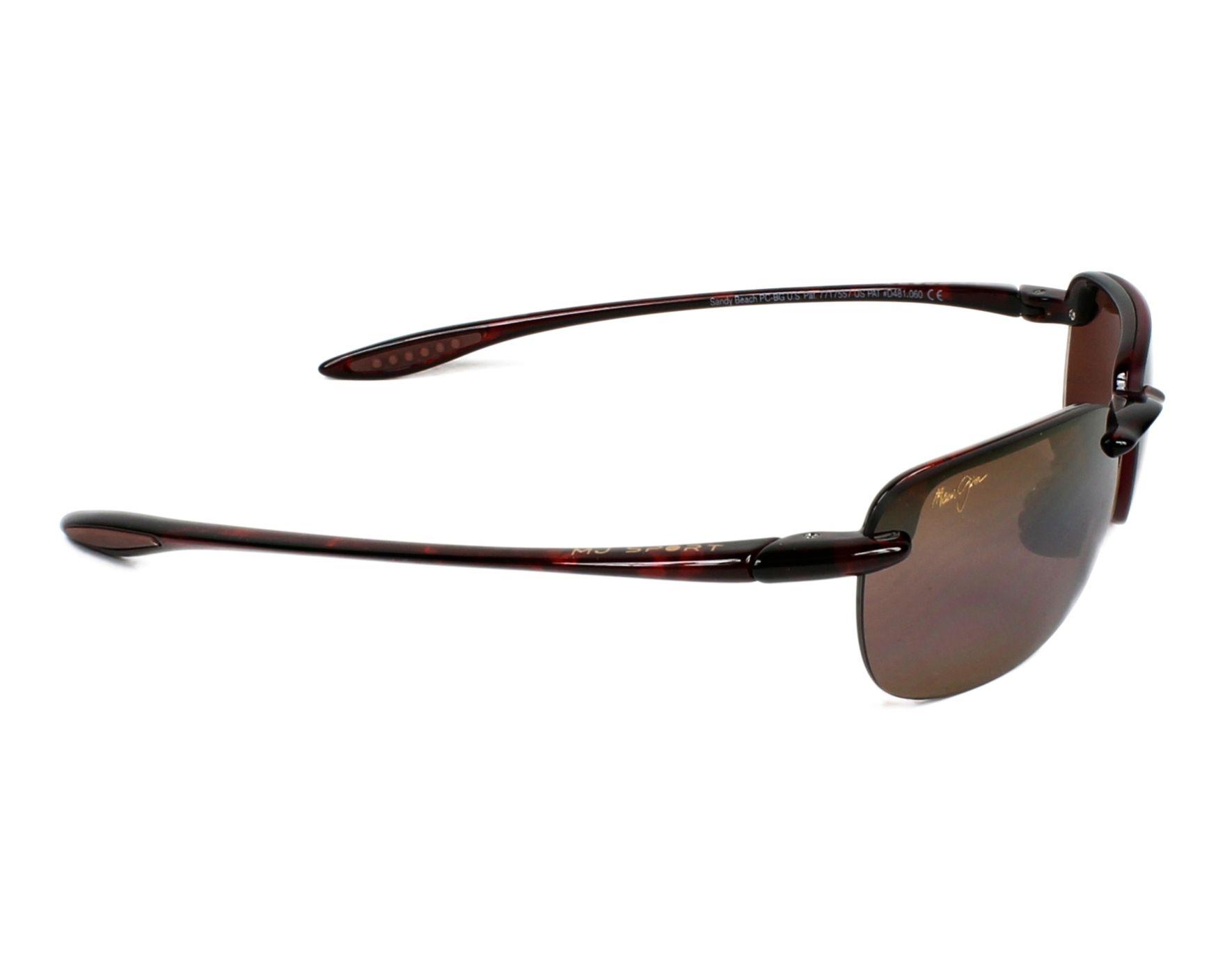 9e9cc6801a Gafas de sol Maui Jim H-408 10 56-15 Havana vista lateral