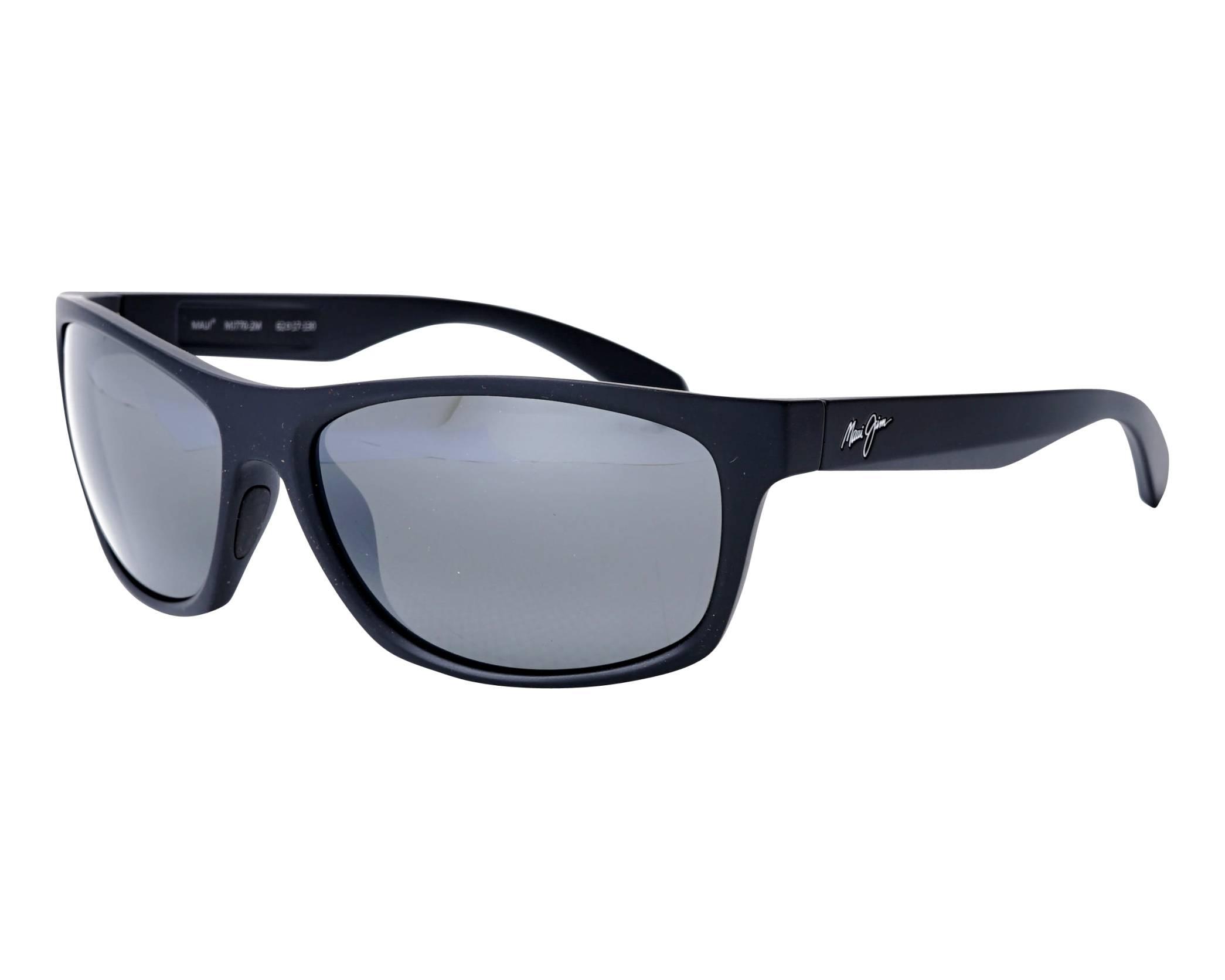 d93039c69c Gafas de sol Maui Jim TUMBLELAND 770-2M 62-17 Negra vista de perfil