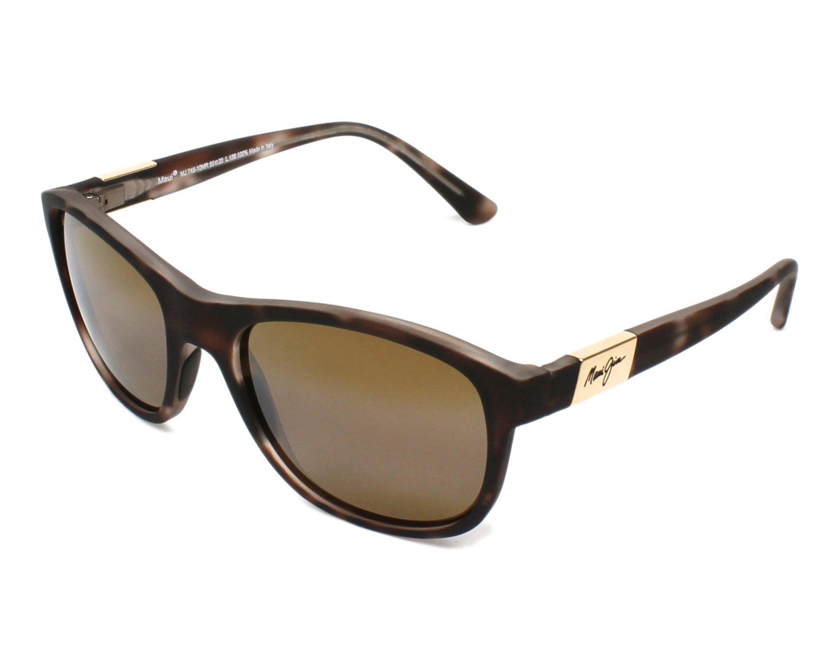 c9efe9103a Gafas de sol Maui Jim H-745 10MR 55-20 Havana vista de perfil