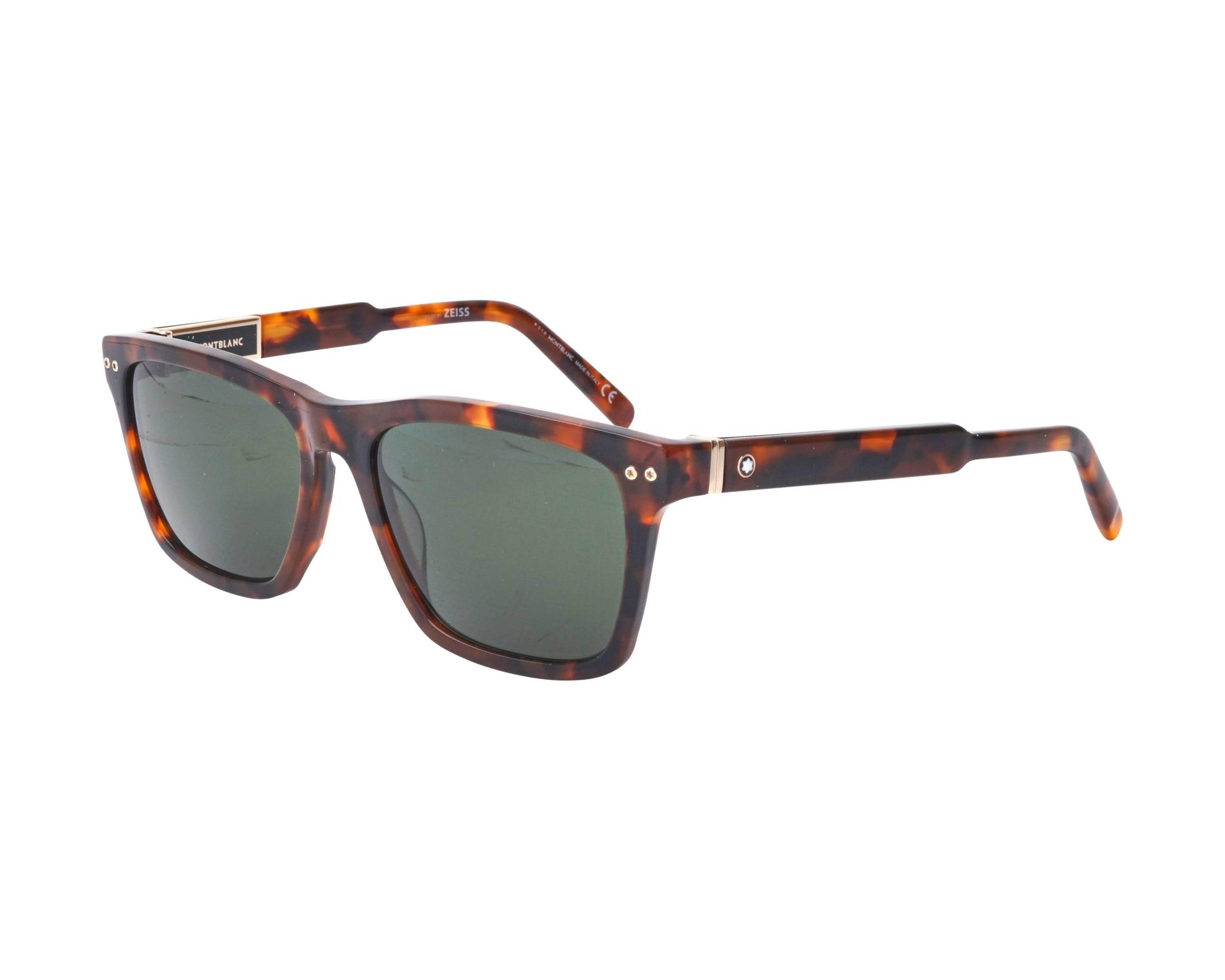 8f29086c8b Gafas de sol Mont Blanc MB-694-S 52R 56-17 Havana vista