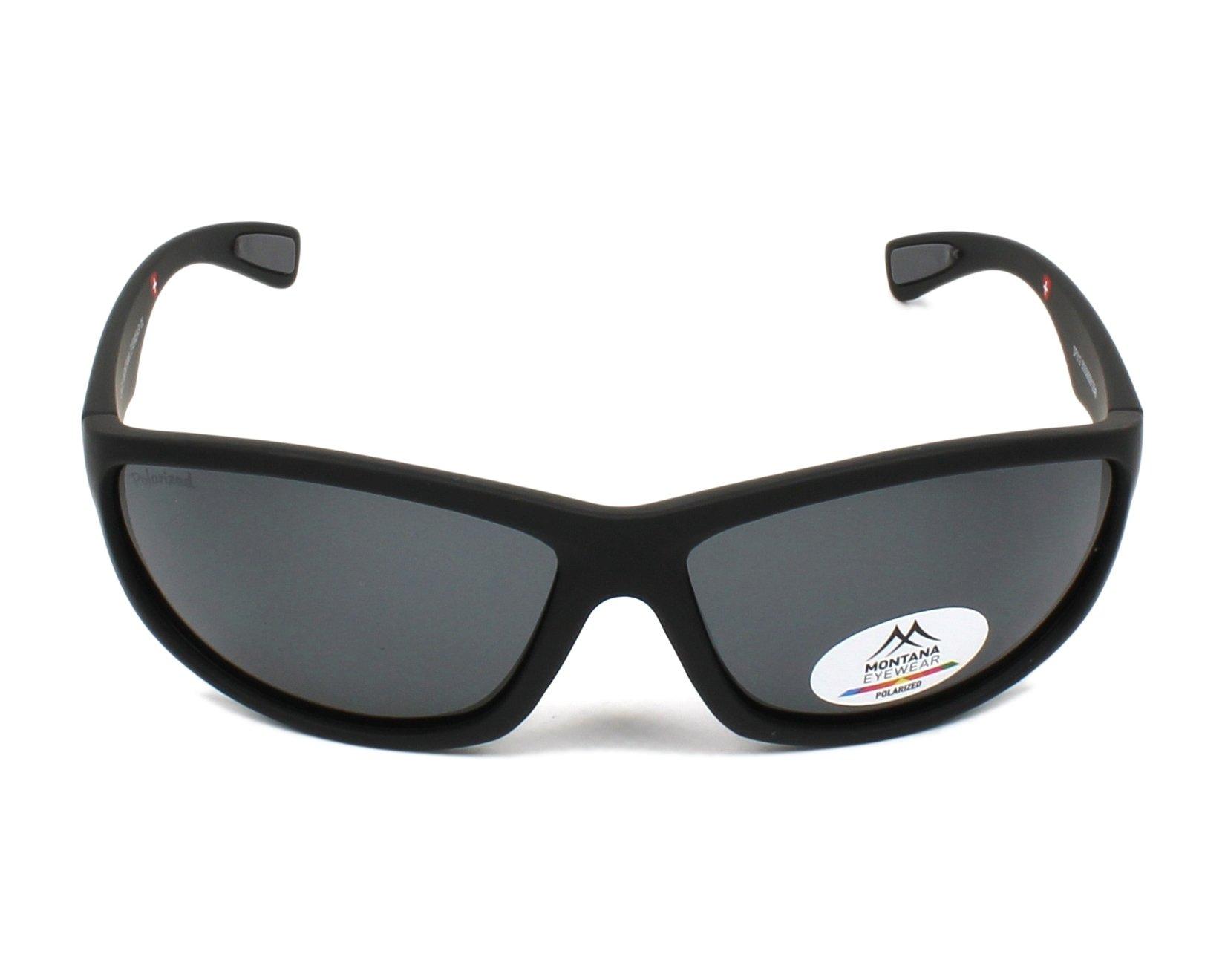 e28773f83c Gafas de sol Montana SP-312 BLACK 63-14 Negra vista de frente