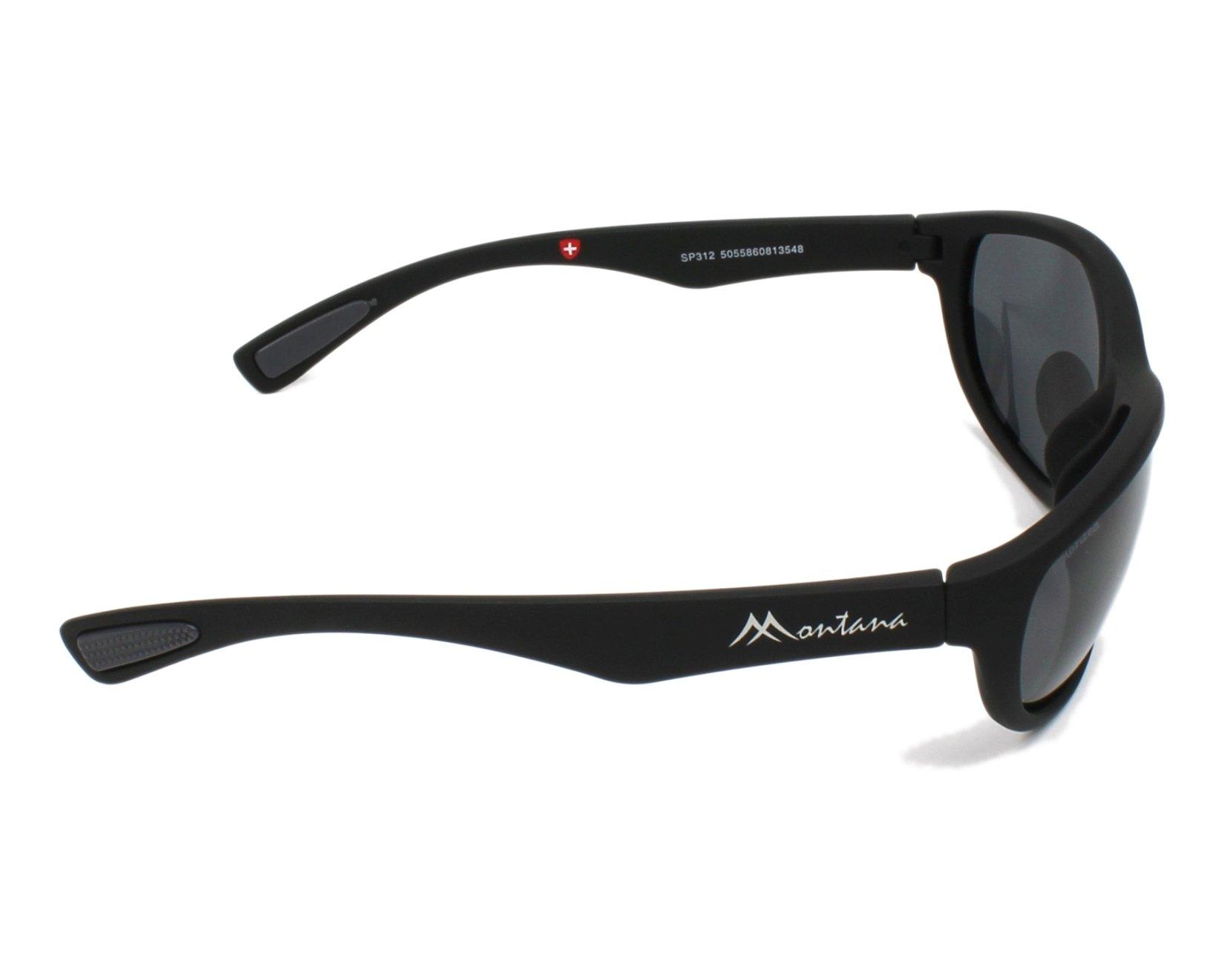 d18640506a Gafas de sol Montana SP-312 BLACK 63-14 Negra vista lateral