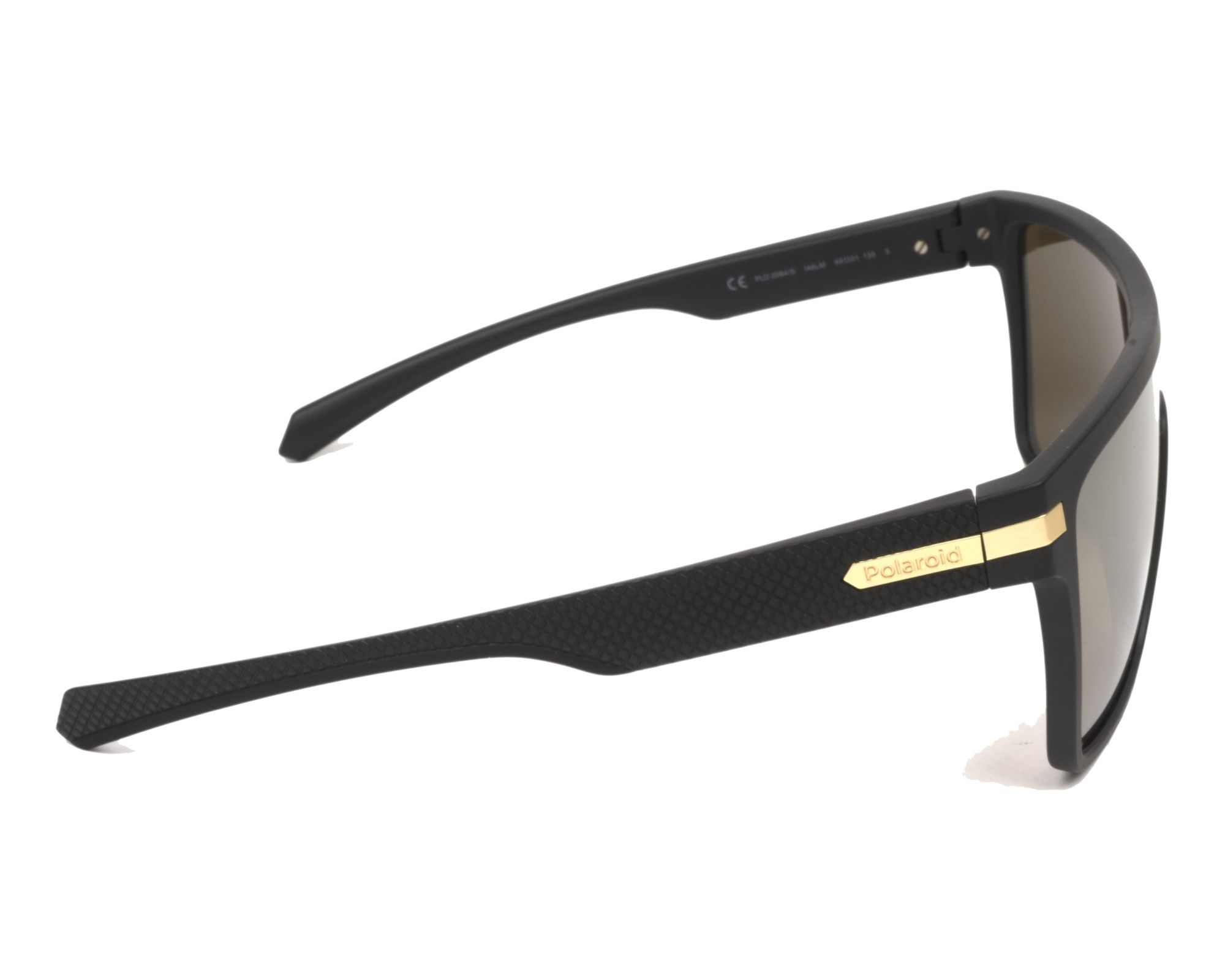 90bab279c0e8f Gafas de sol Polaroid PLD-2064-S I46 LM - Negra vista lateral