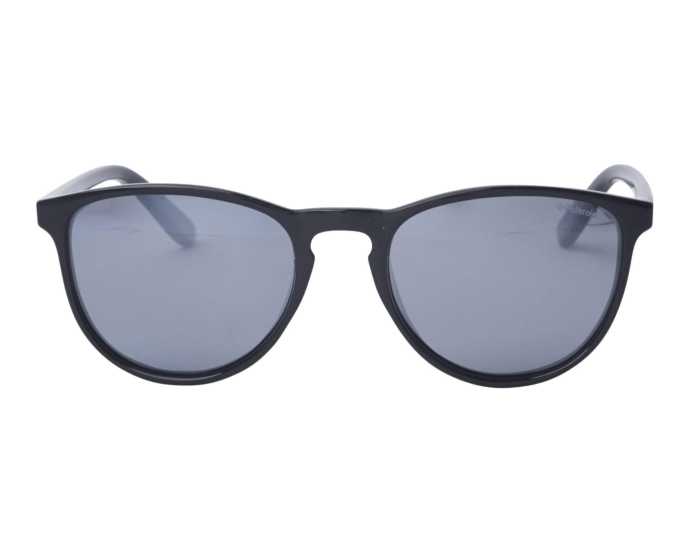 ce1875bca4 previsualización Gafas de sol Polaroid PLD-8028-S 807EX - Negra vista de  frente