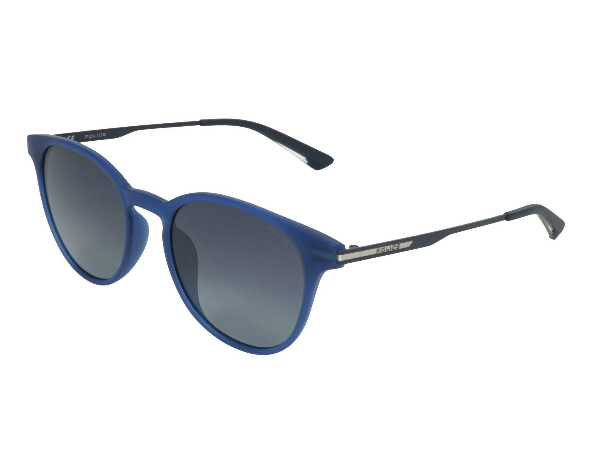 05b6ffc7de Gafas de sol Police SPL-718 TA5P 52-20 Azul vista de perfil