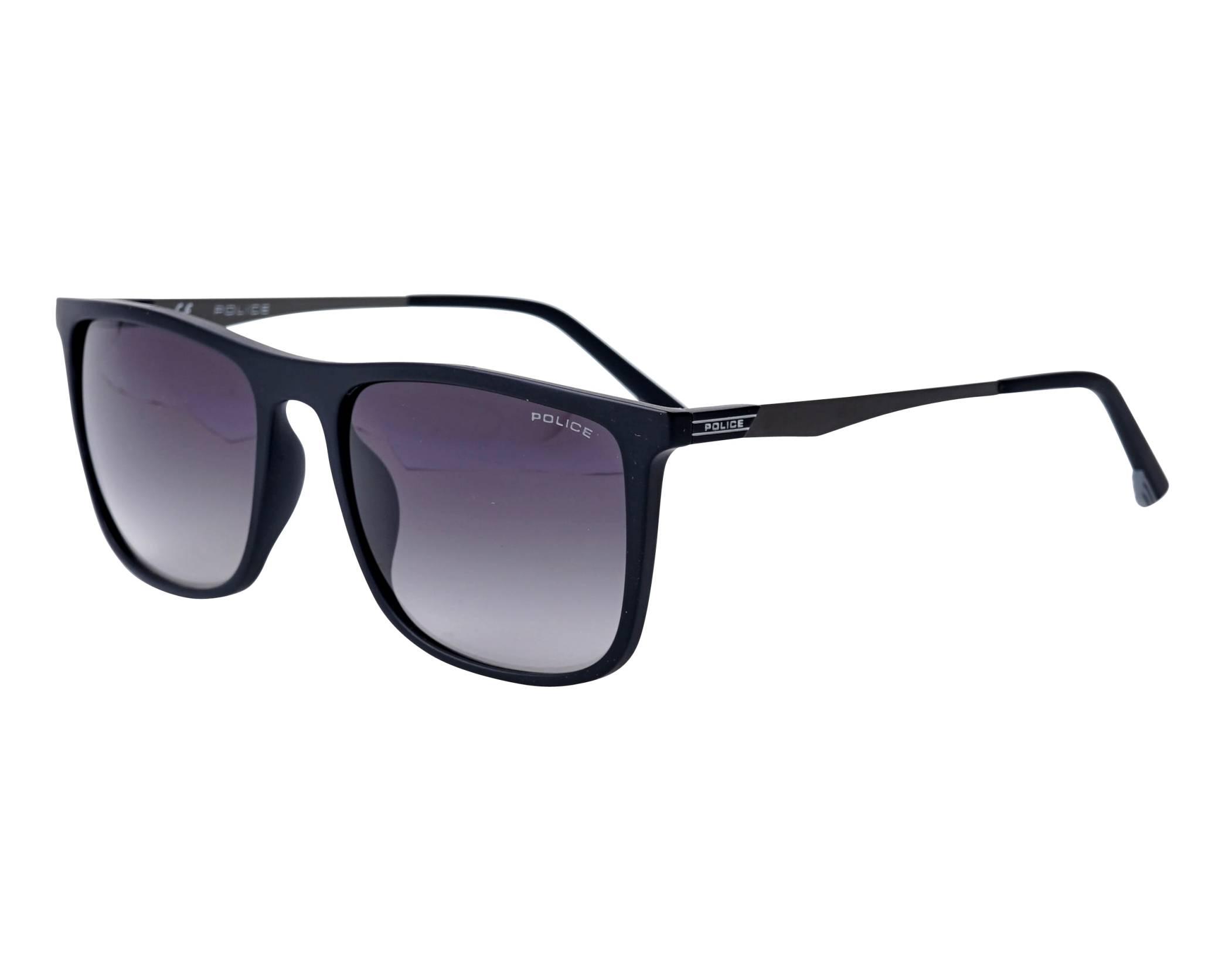 c9aacf50f1 Gafas de sol Police SPL-770 0U28 55-18 Negra vista de perfil