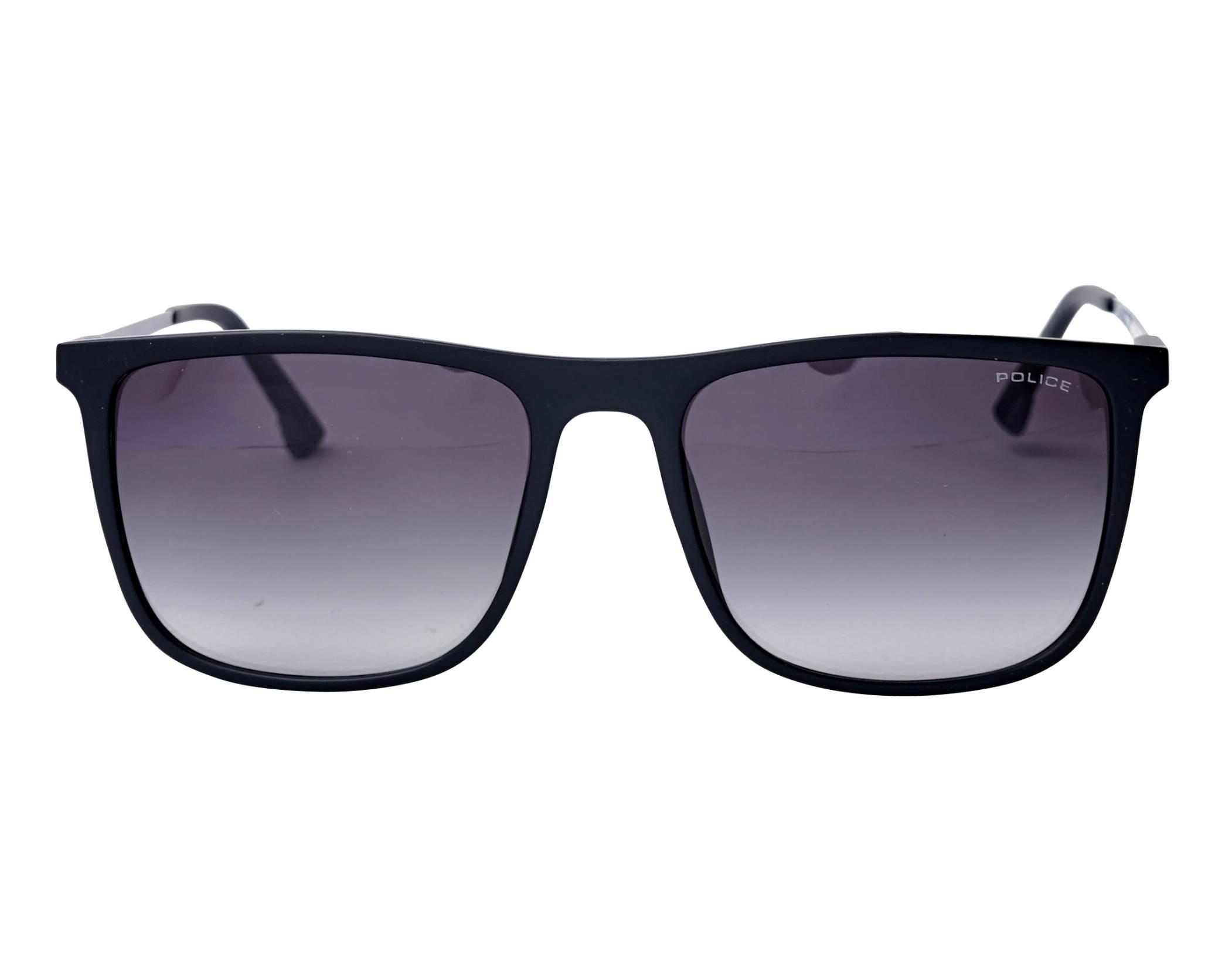 8639297823 Gafas de sol Police SPL-770 0U28 55-18 Negra vista de frente
