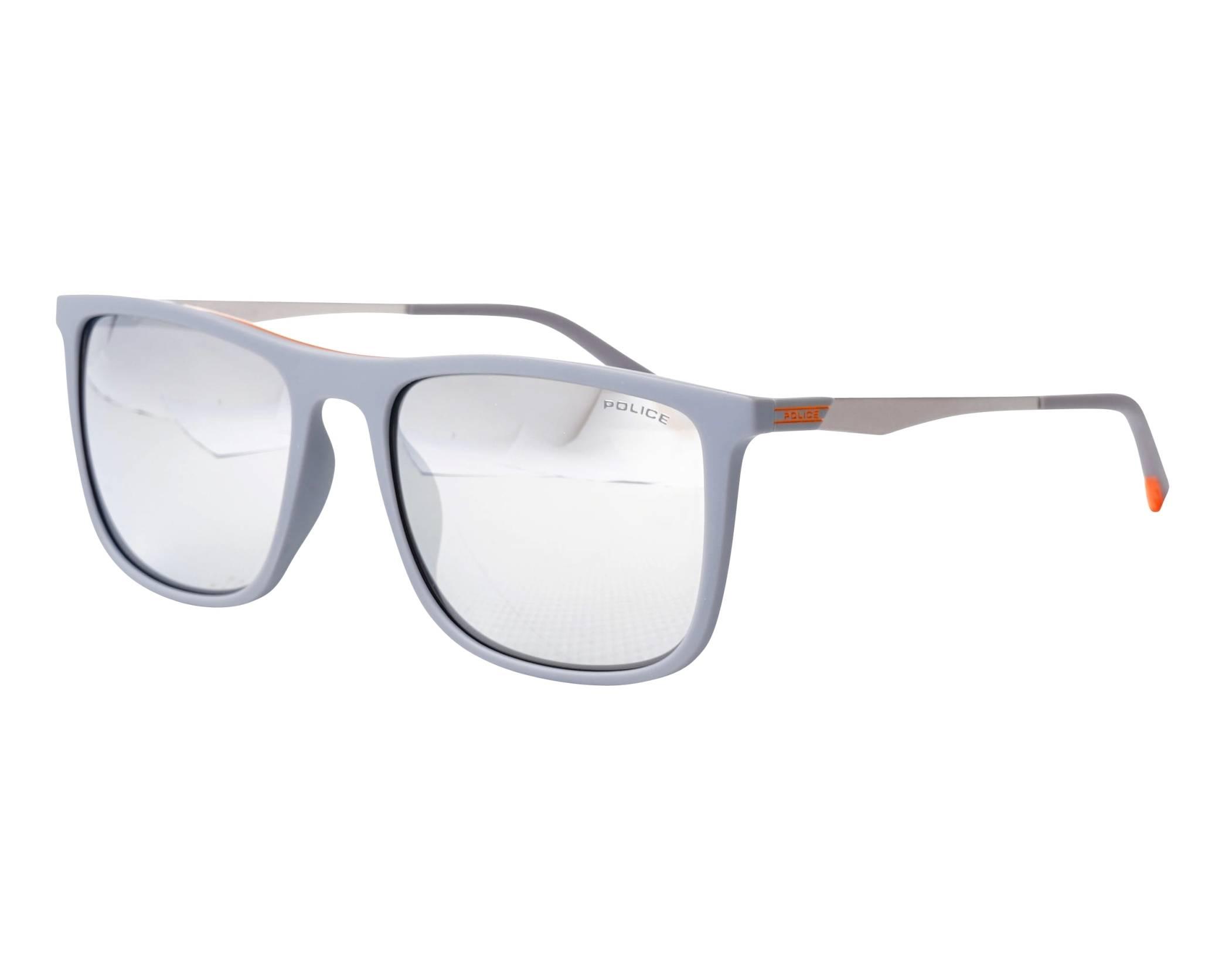 8750e018a9 Gafas de sol Police SPL-770 L65X 55-18 Gris Plata vista de perfil