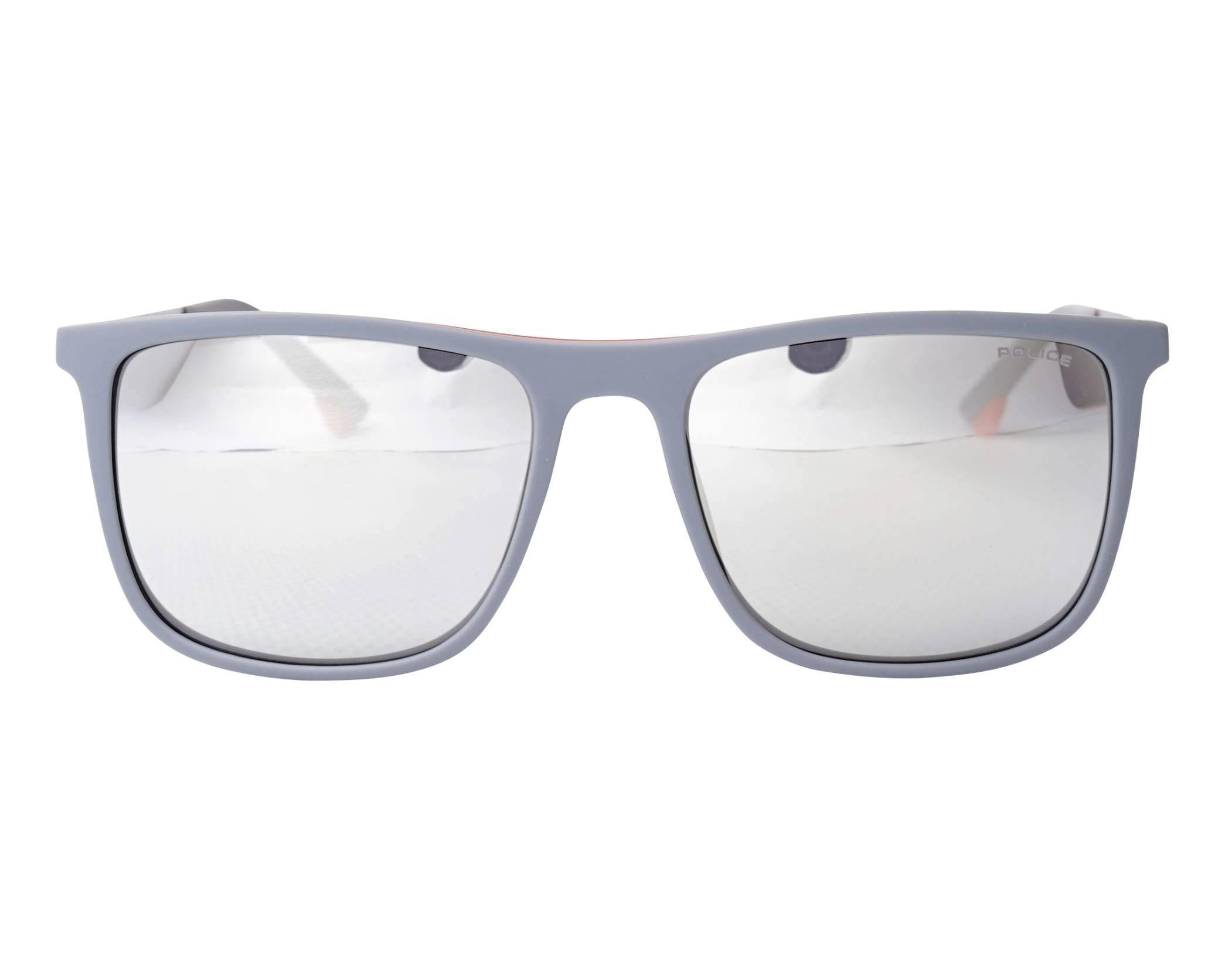 f8cd5fa32d Gafas de sol Police SPL-770 L65X 55-18 Gris Plata vista de frente