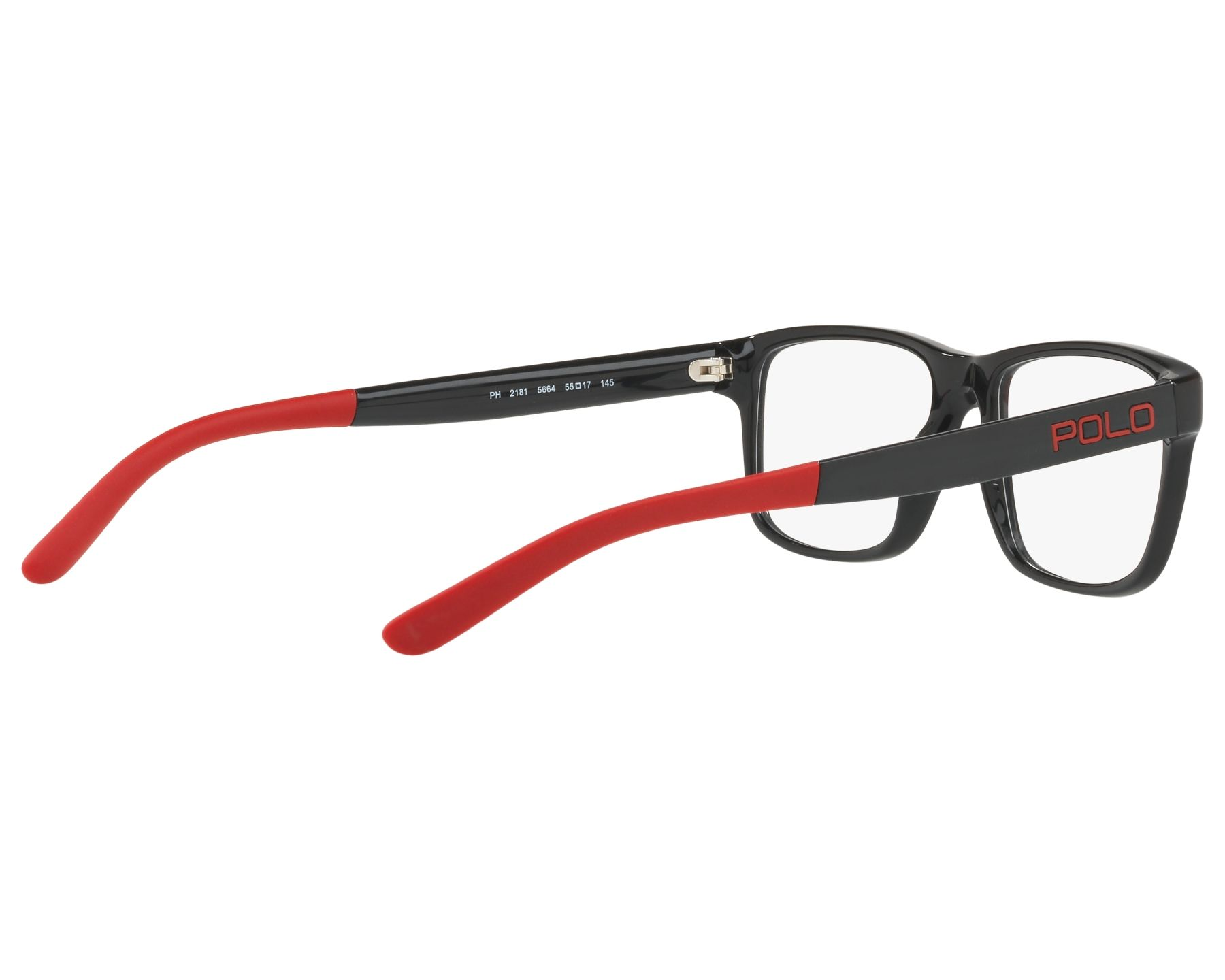 190c5a20a9 Gafas Graduadas Polo Ralph Lauren PH-2181 5664 53-17 Negra Vista de 360