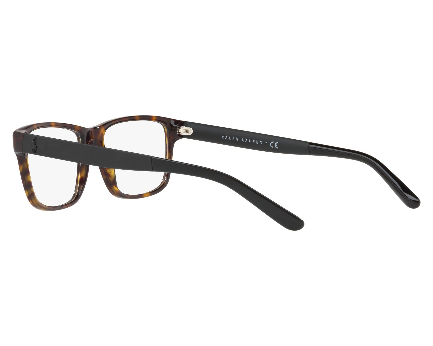 259faf68a3 Gafas Graduadas Polo Ralph Lauren PH-2181 5666 53-17 Havana Gris Vista de