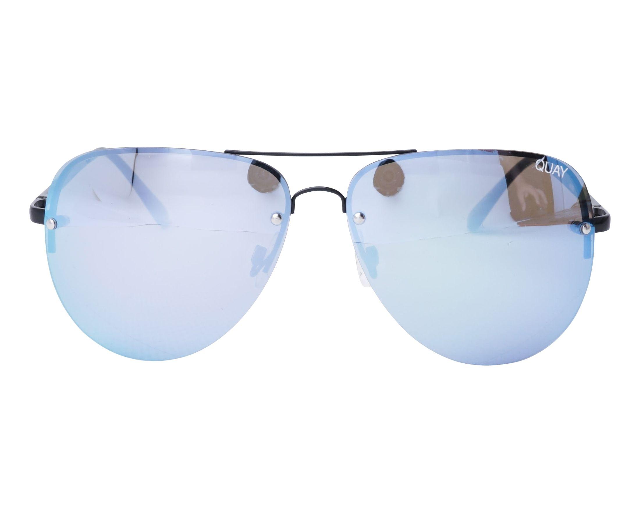 67b3448a3c Gafas de sol Quay Australia QC-000064 BLK-PURP 54-17 Negra vista