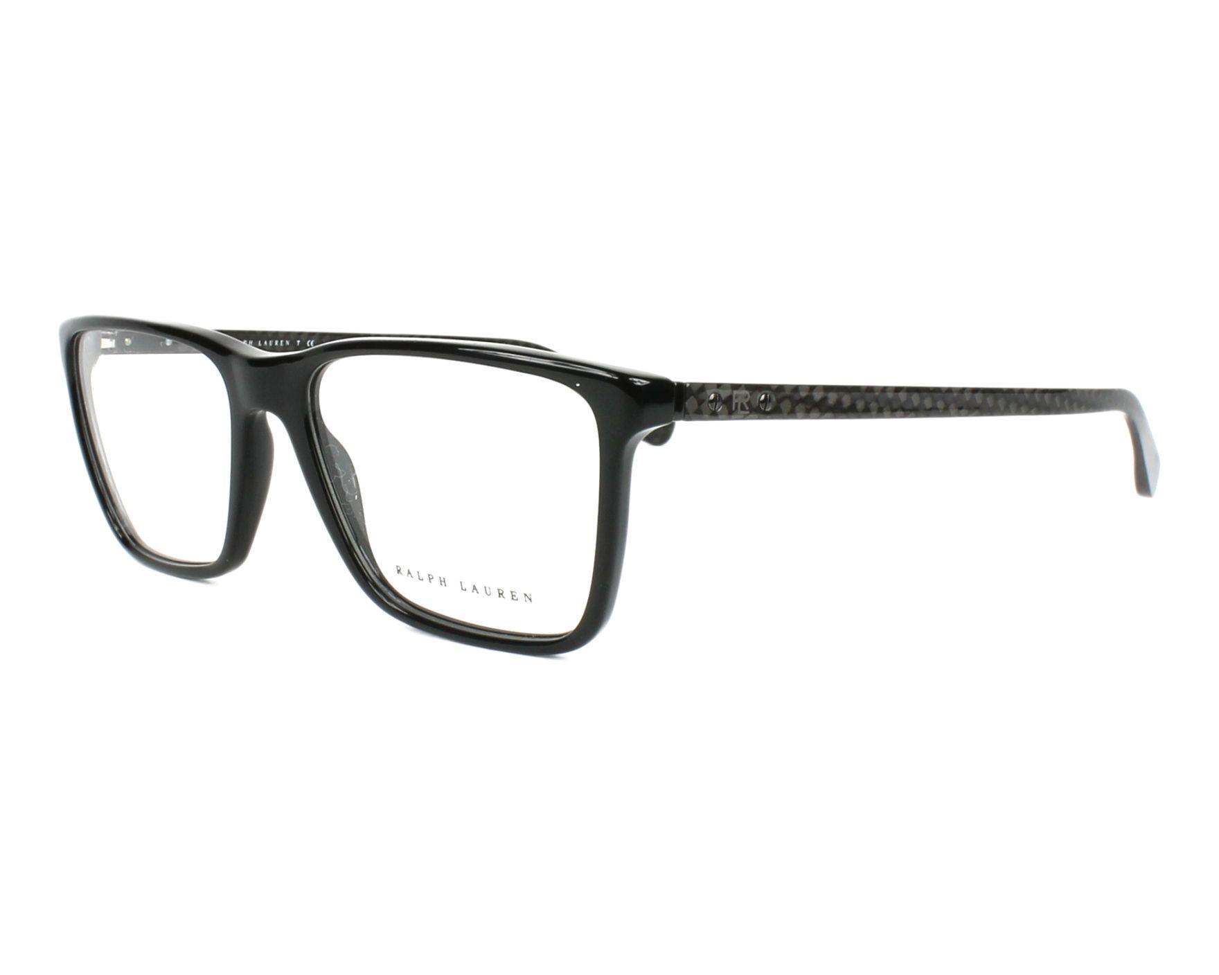 53607c4047 Gafas Graduadas Ralph Lauren RL-6163 5001 53-17 Negra Carbon vista de perfil