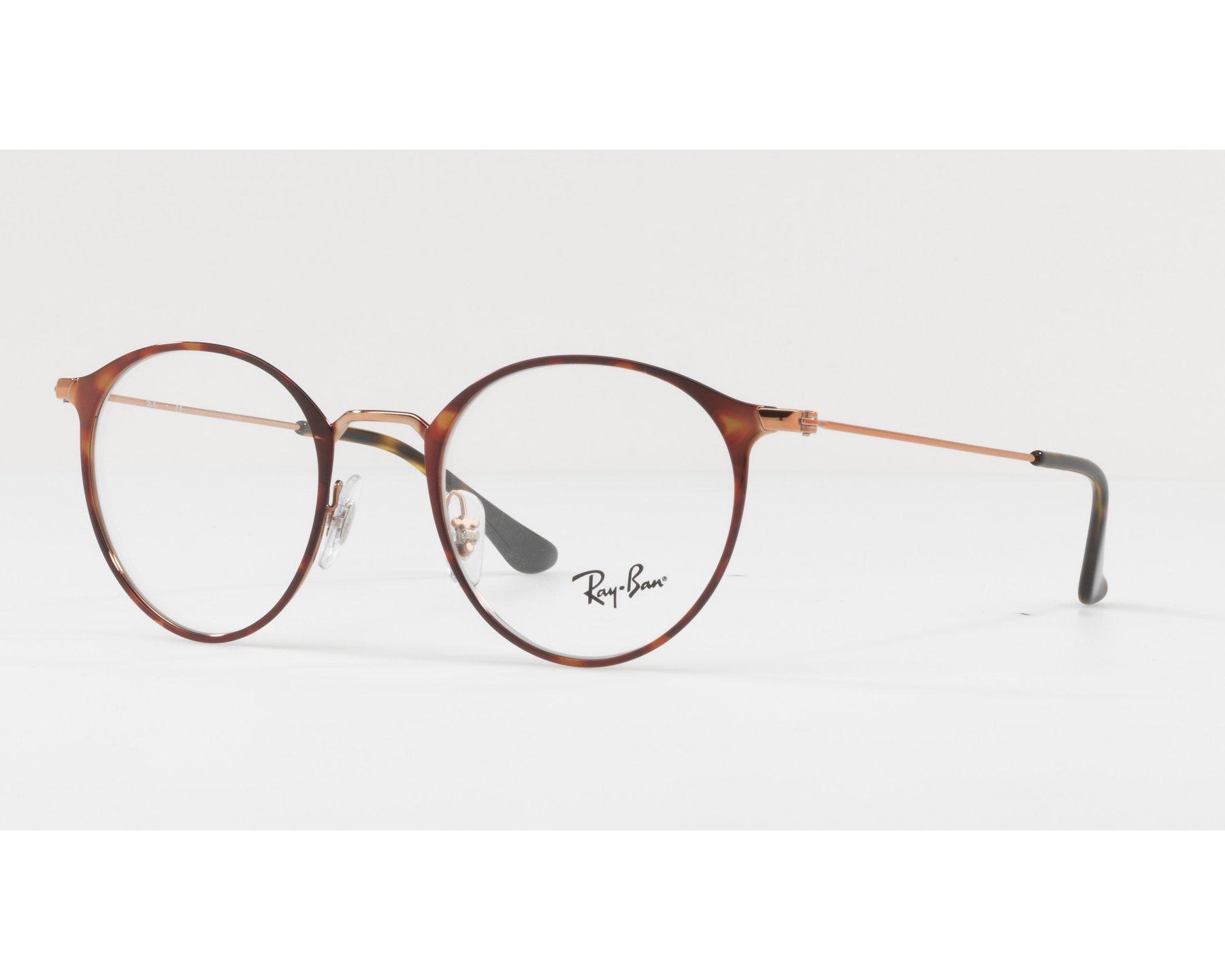 Gafas Graduadas Ray-Ban RX-6378 2971 47-21 Havana Oro cobre 40ef7f0eda23