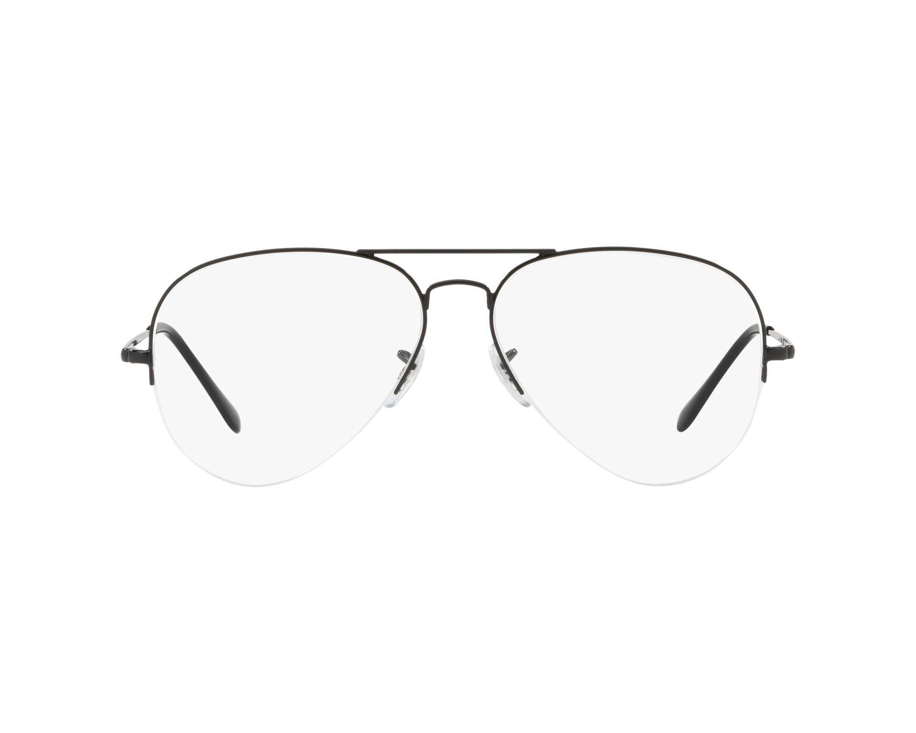 65d2eb8485 Gafas Graduadas Ray-Ban RX-6589 2509 56-15 Negra Vista de 360