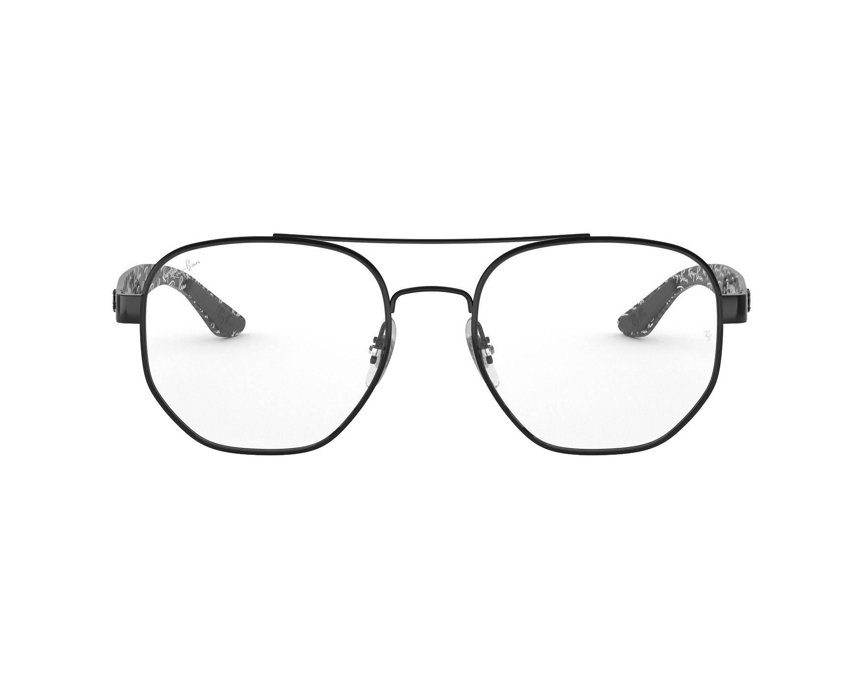 53bdb02b52 Gafas Graduadas Ray-Ban RX-8418 2509 53-18 Negra Gris Vista de