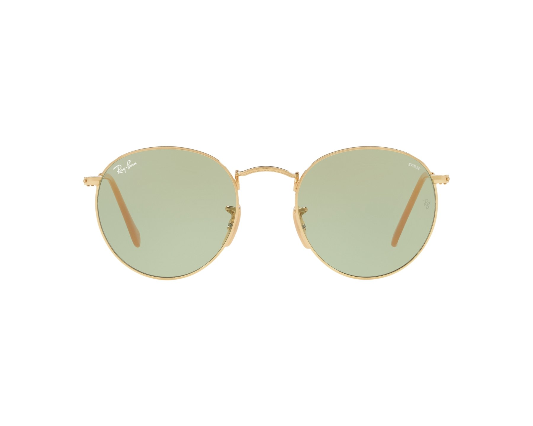 b40dd7fd35d0c Gafas de sol Ray-Ban RB-3447 90644C 50-21 Oro Vista de