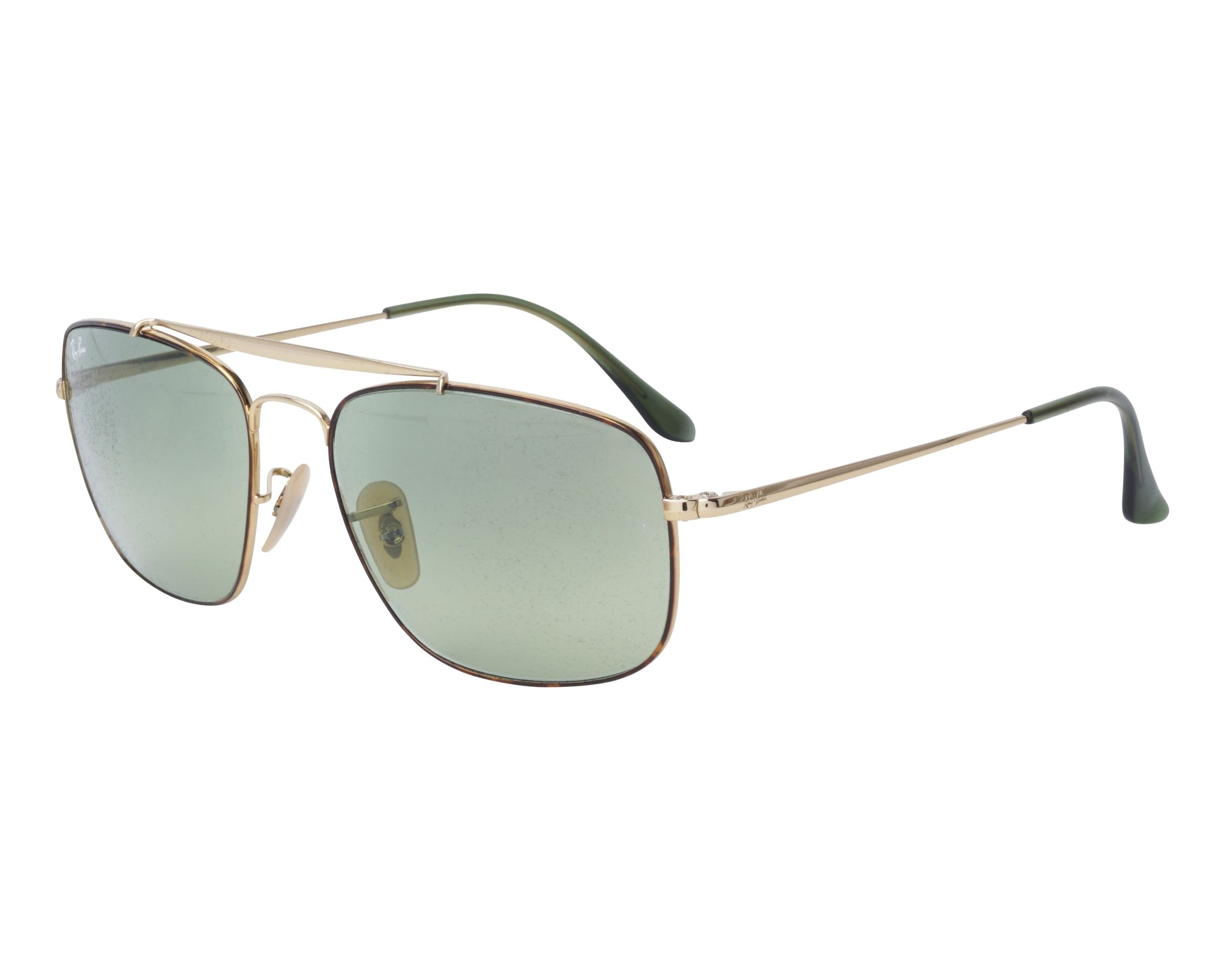 3a3d252878 Gafas de sol Ray-Ban RB-3560 91034M 58-17 Oro Havana vista