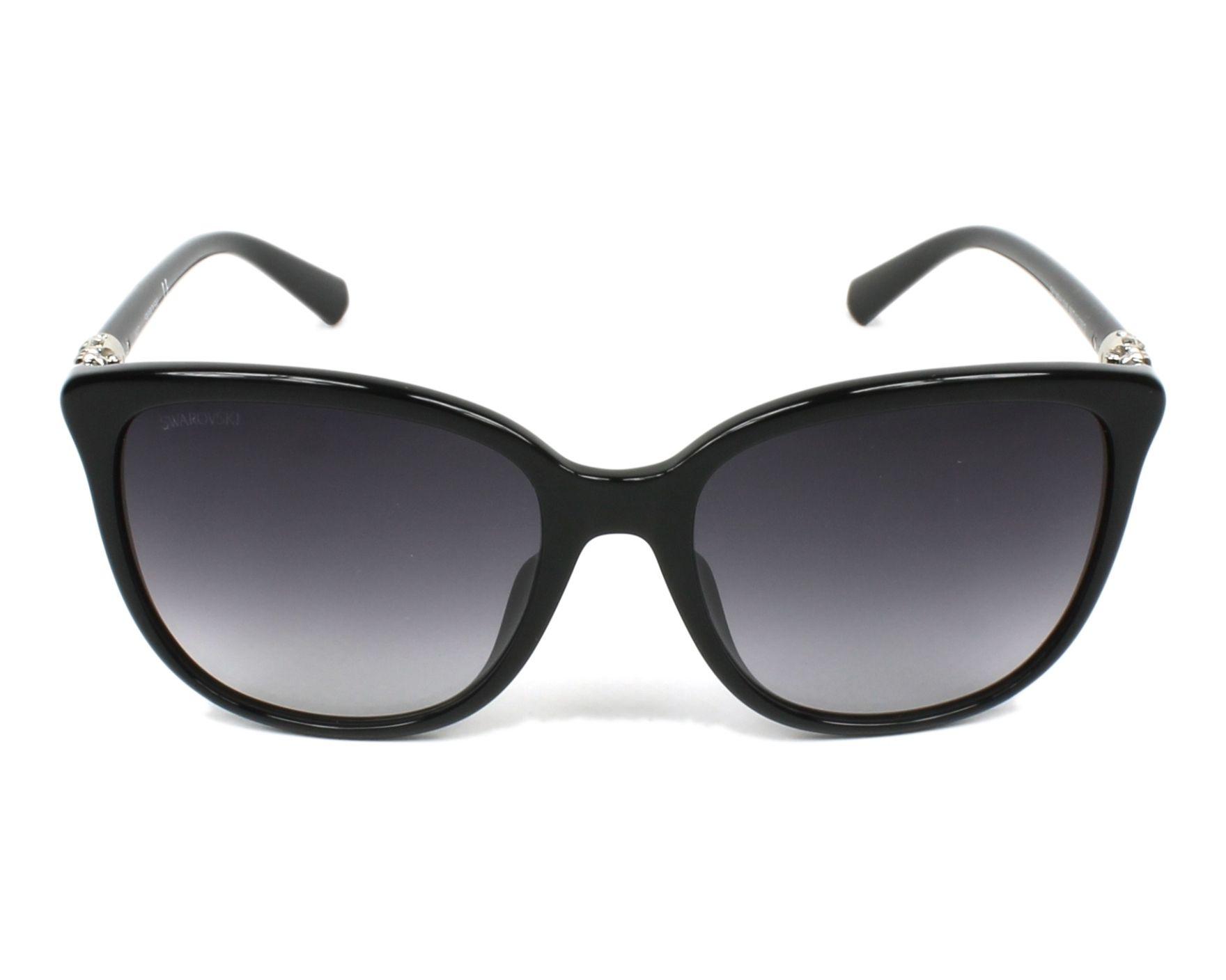 fb6805fae9 Gafas de sol Swarovski SK-0146-H 01B 56-17 Negra vista de
