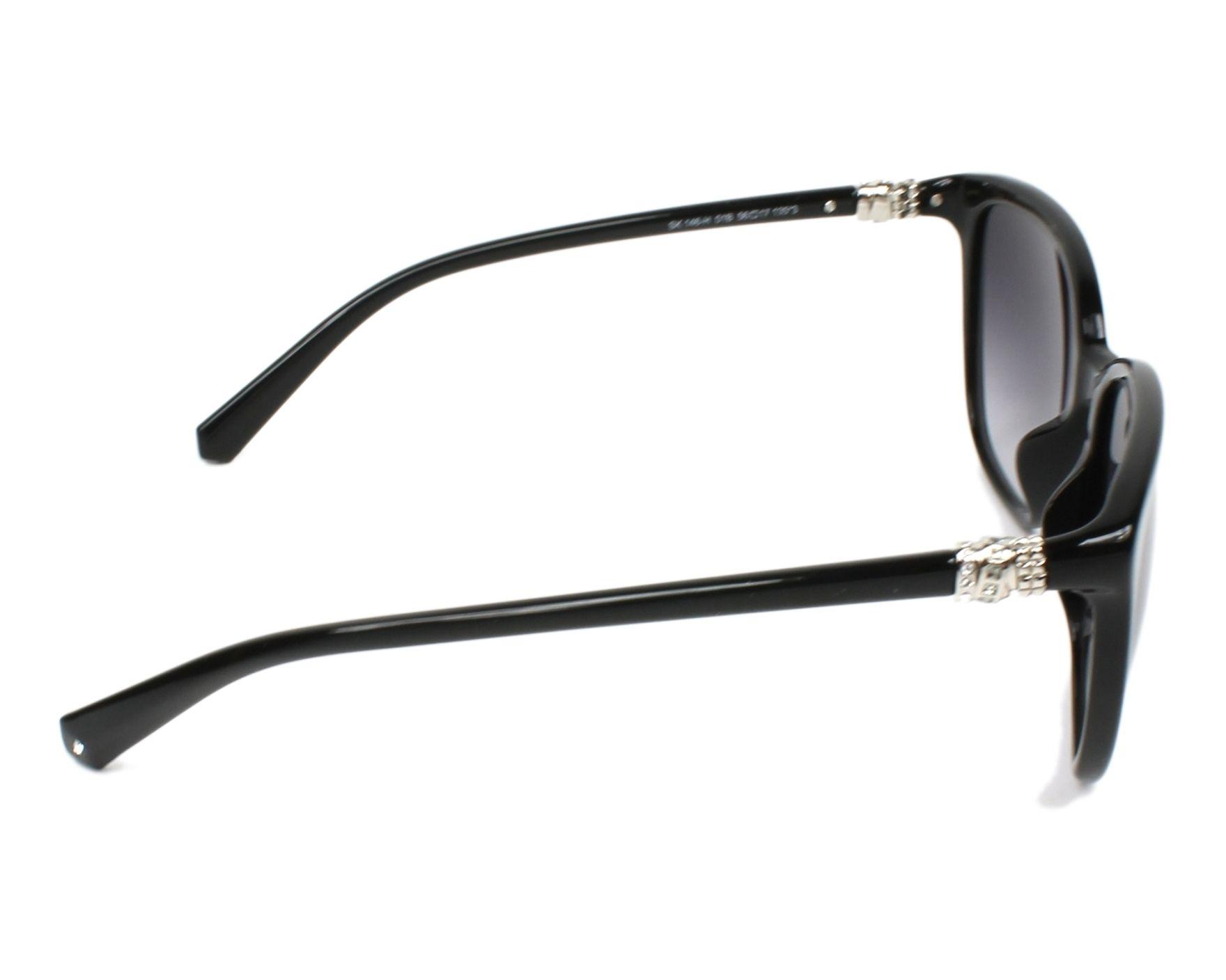c732fed1ec Gafas de sol Swarovski SK-0146-H 01B 56-17 Negra vista lateral