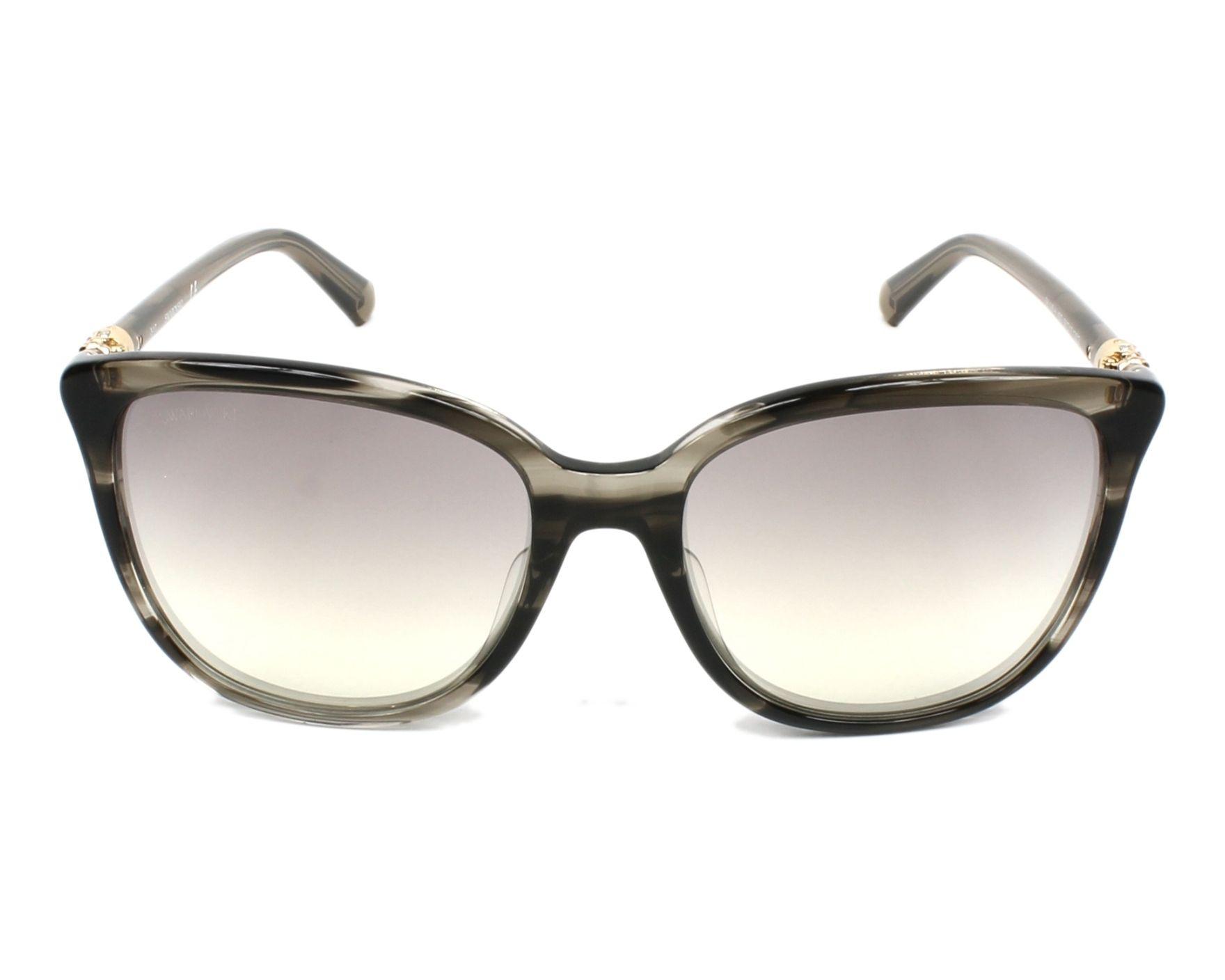 4f62ea72b6 Gafas de sol Swarovski SK-0146-H 45G 56-17 Gris Gris vista