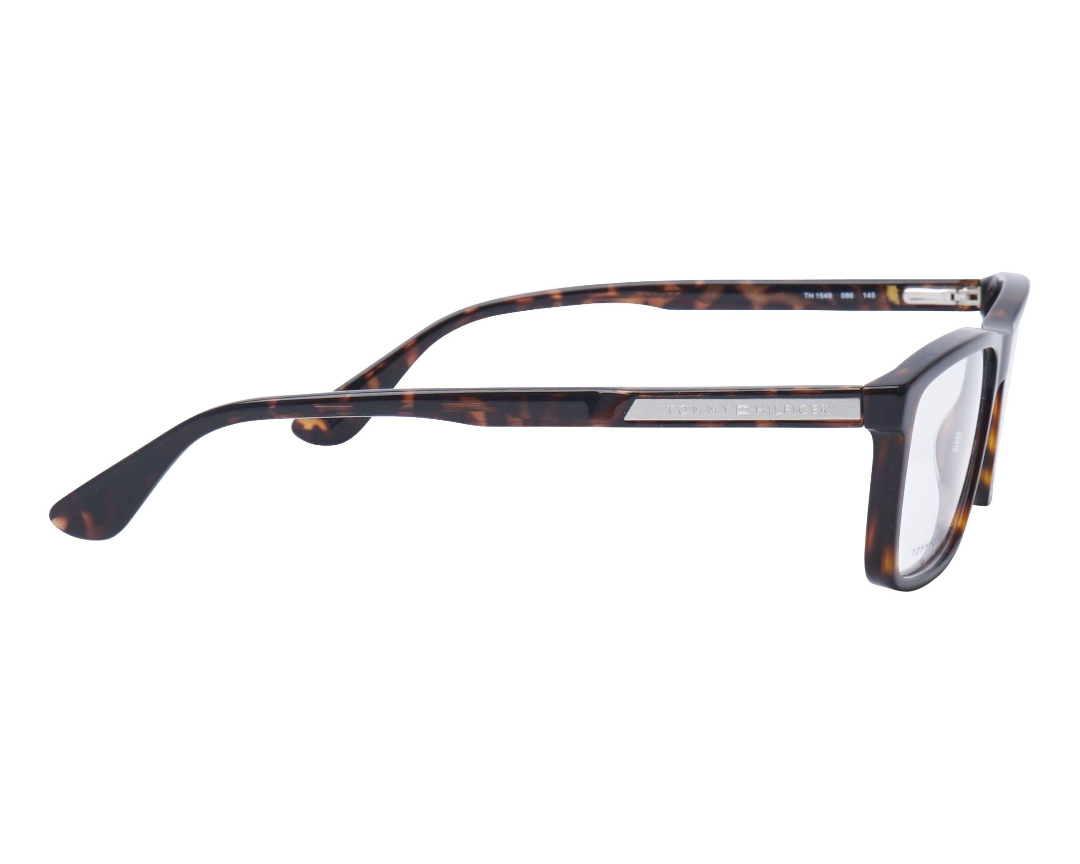 b62950a8b0404 Gafas Graduadas Tommy Hilfiger TH-1549 086 55-16 Havana vista lateral