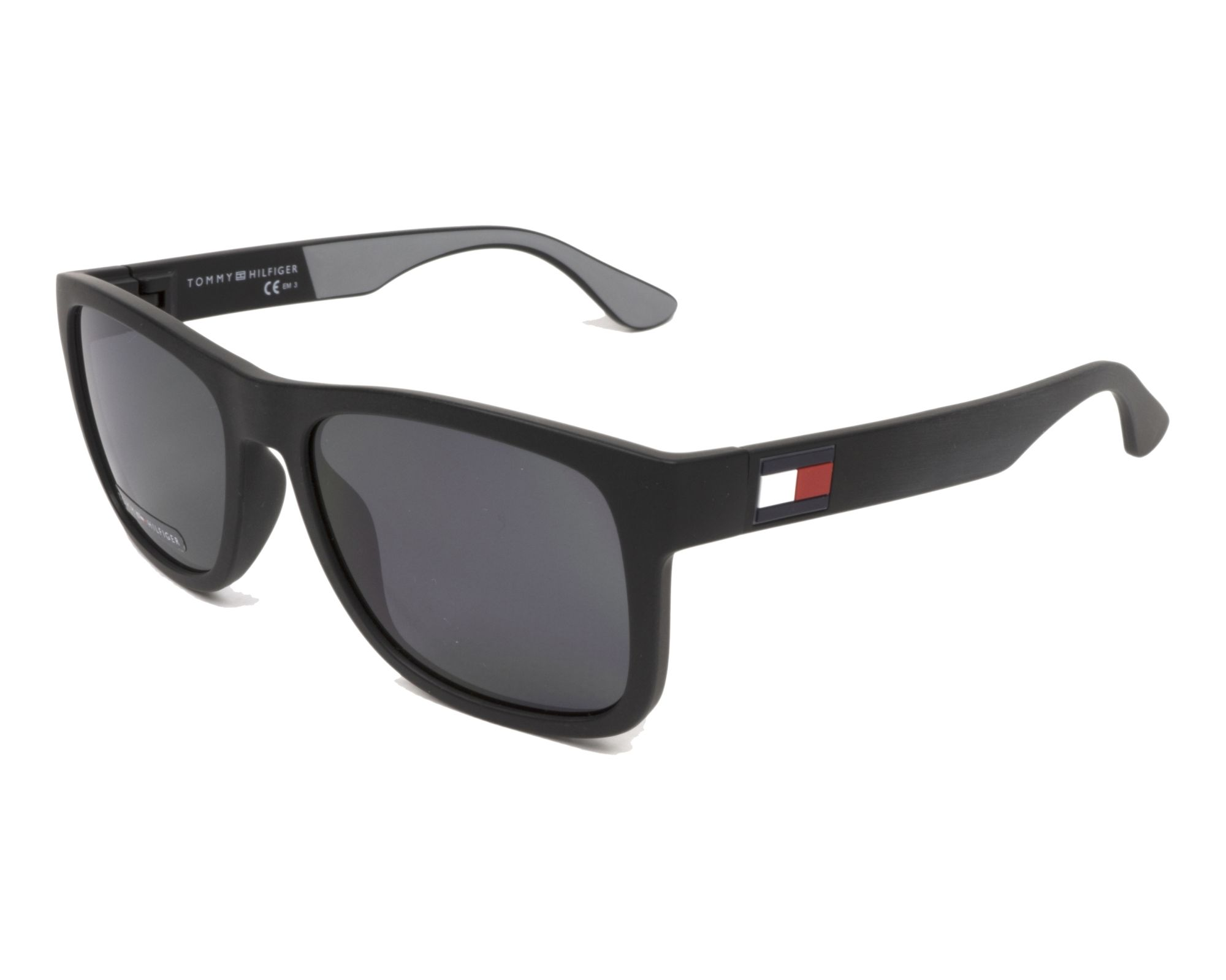 e71f0e6616 Gafas de sol Tommy Hilfiger TH-1556-S 08AIR 52-18 Negra vista