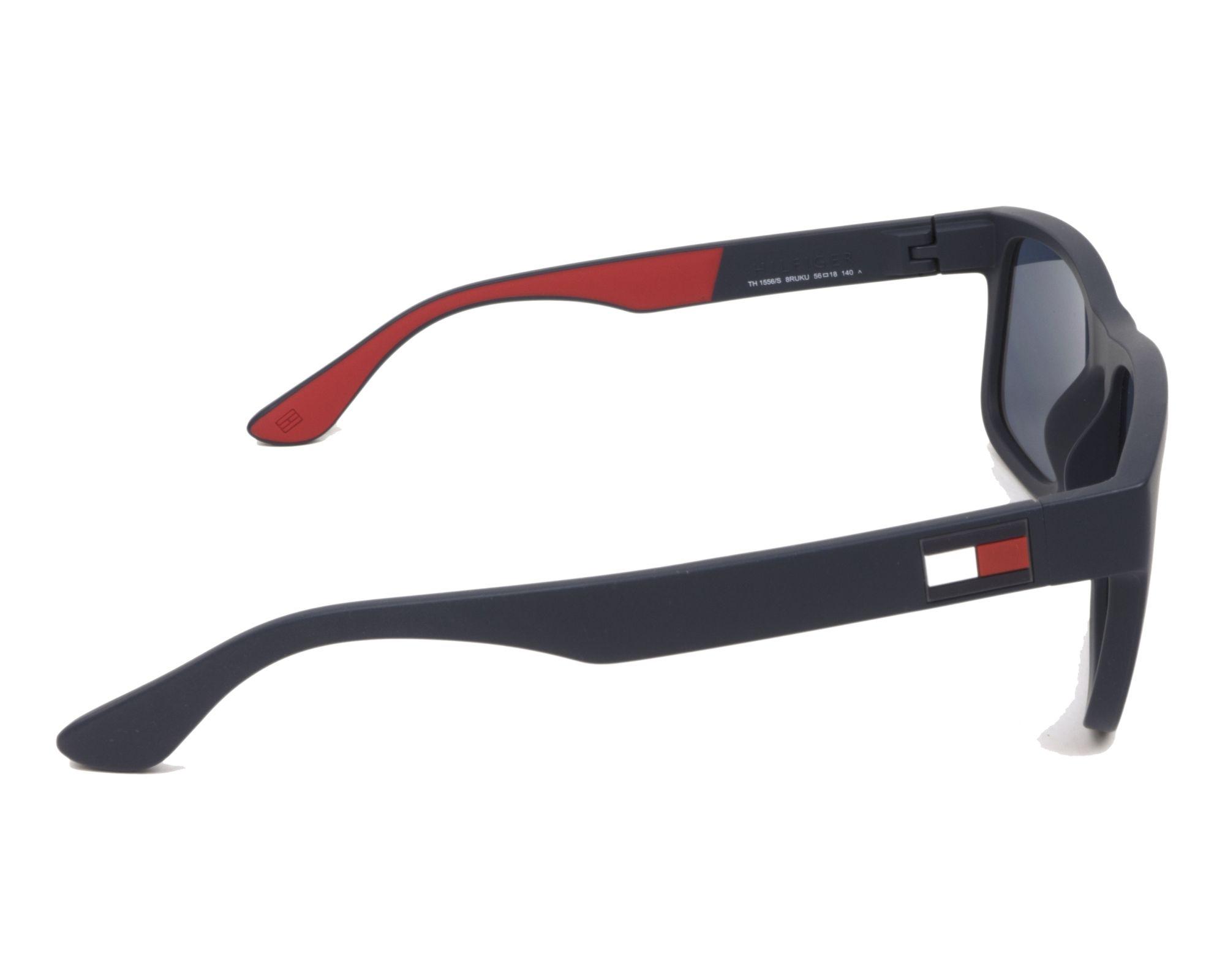 0c9e210990 Gafas de sol Tommy Hilfiger TH-1556-S 8RUKU 52-18 Azul Rojo