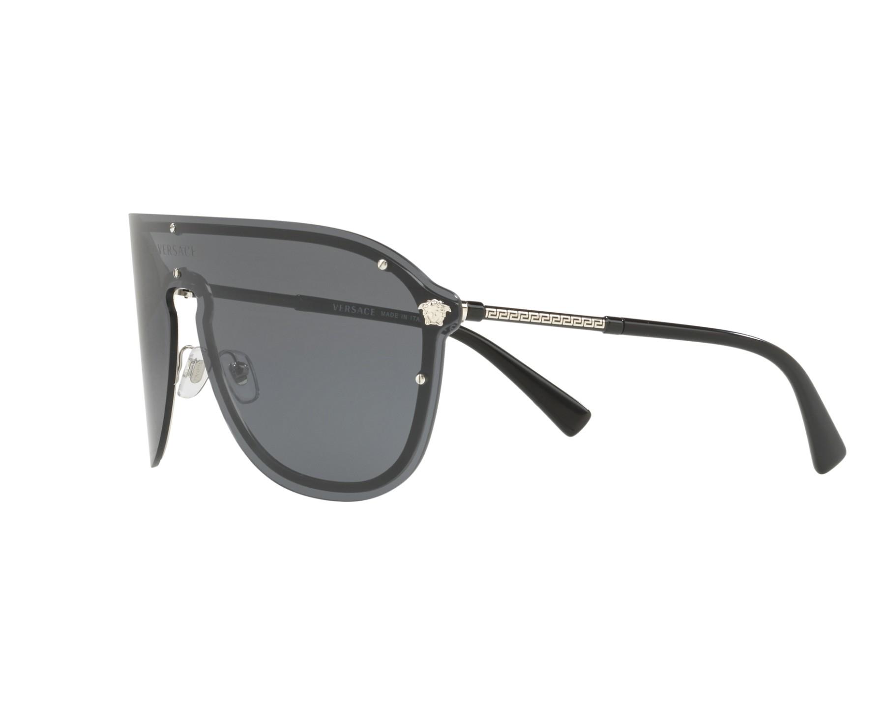 Gafas de sol Versace VE-2180 100087 44- Negra Vista de 360 grados 3 e96e9df6f332