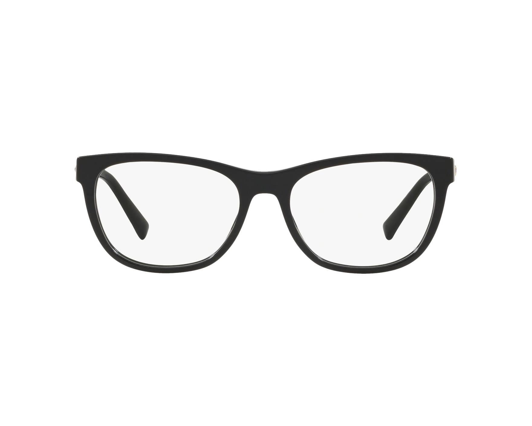 d14003f992 Gafas Graduadas Versace VE-3263-B GB1 54-17 Negra Vista de 360
