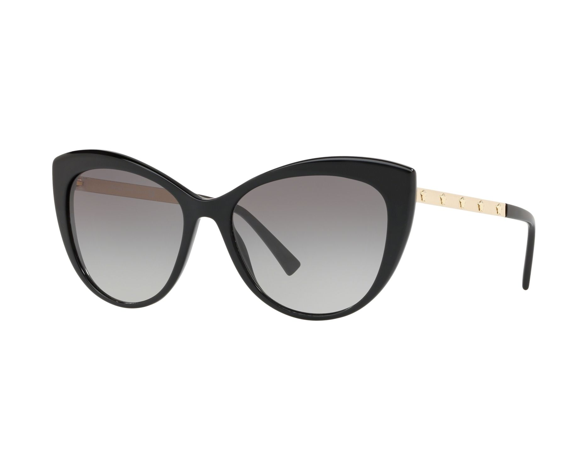 c0a28008e0 Gafas de sol Versace VE-4348 GB1/11 57-17 Negra Oro