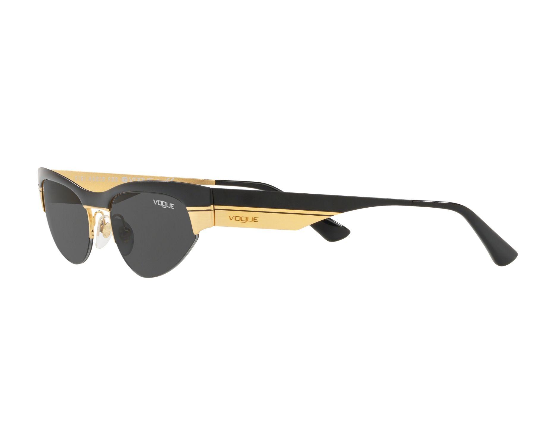 4838a76c76 Gafas de sol Vogue VO-4105-S 917-87 - Negra Oro Vista