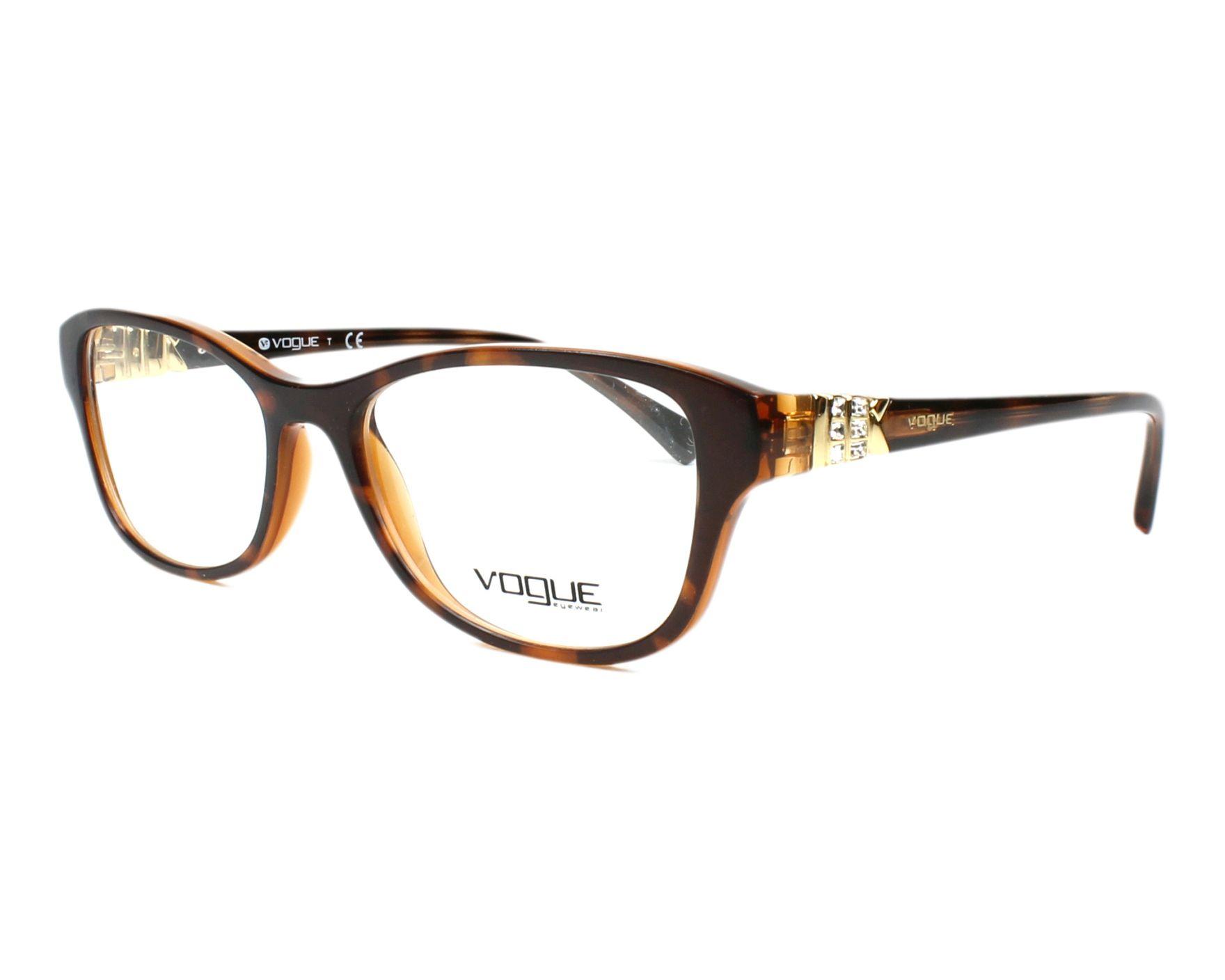 59c75ea7f7 Gafas Graduadas Vogue VO-5170-B 2386 52-16 Havana vista de perfil