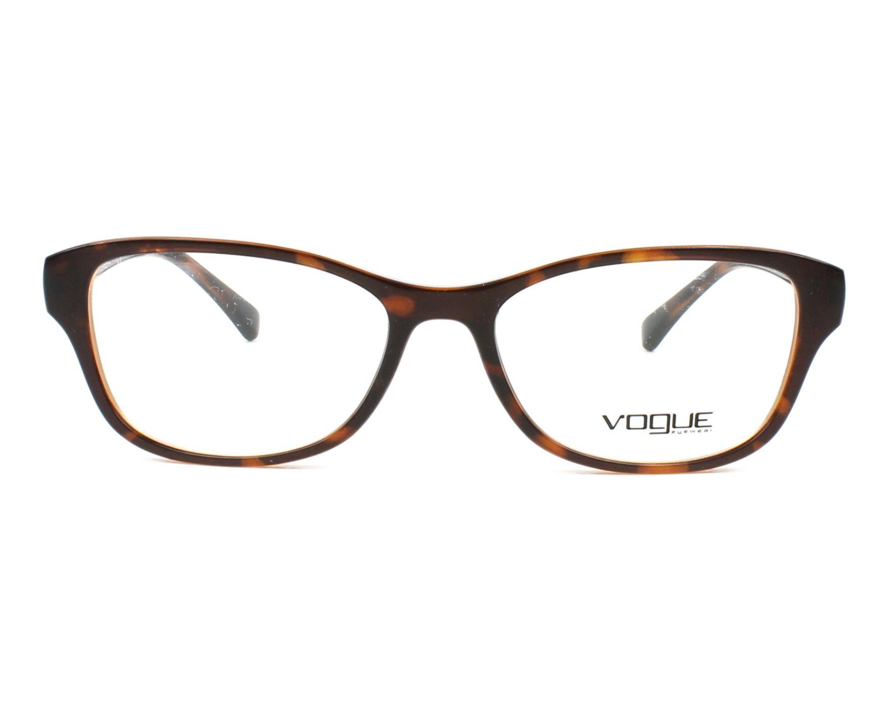 0b59d1a831 Gafas Graduadas Vogue VO-5170-B 2386 52-16 Havana vista de frente