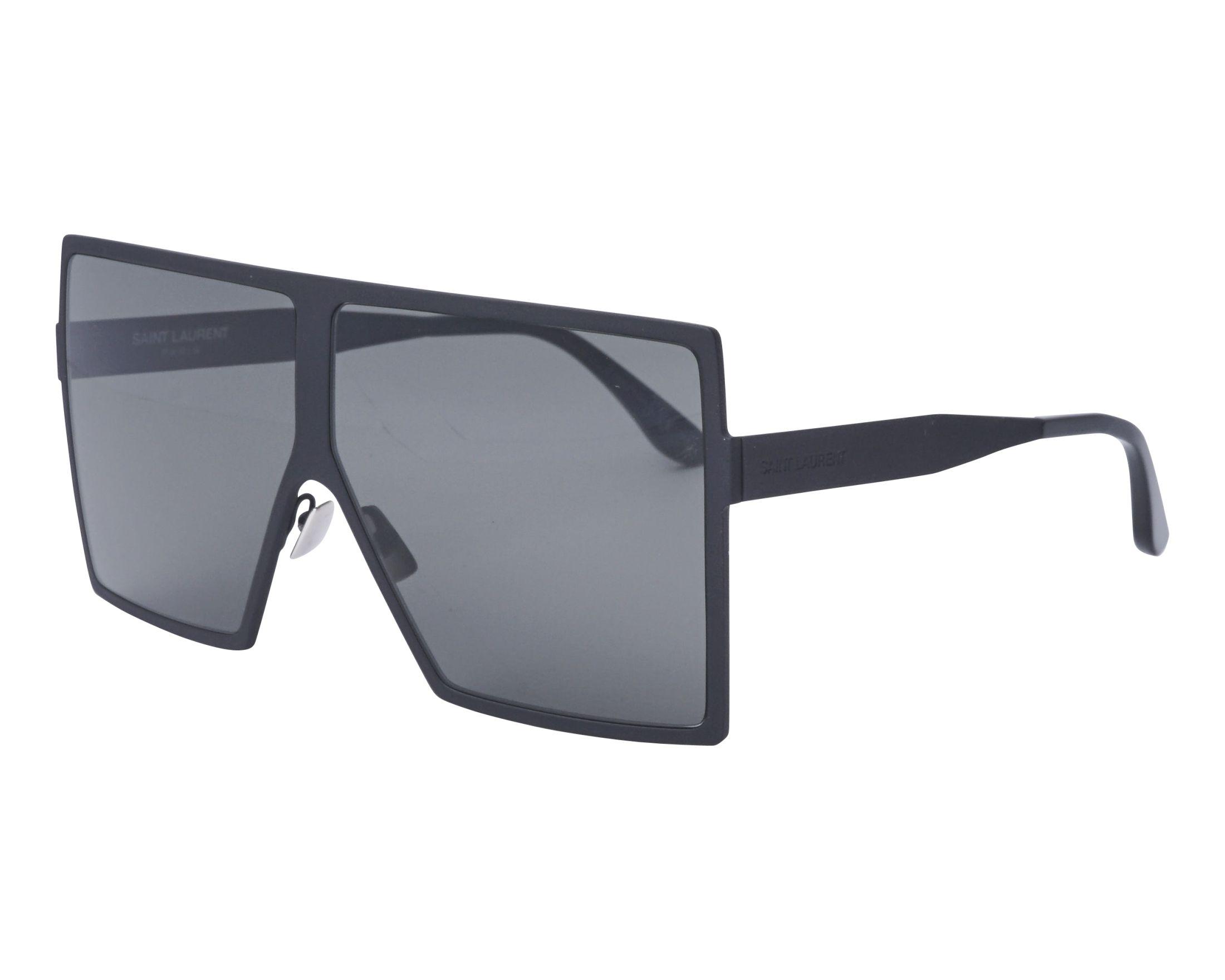 ce29cacf10 Gafas de sol Yves Saint Laurent SL-182 001 63-6 Negra vista de