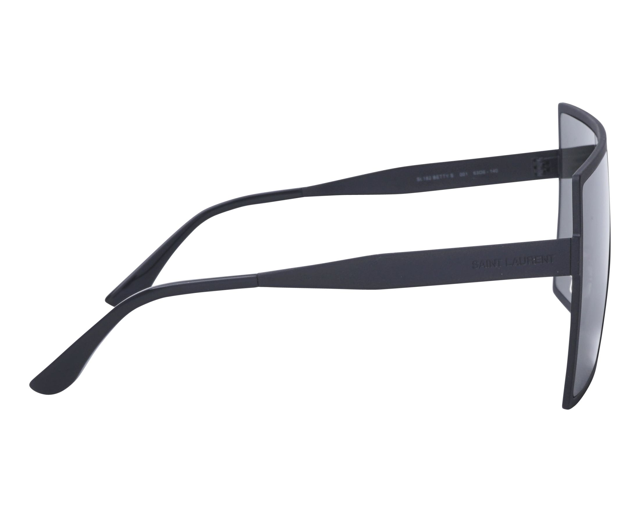 4c974d6151 Gafas de sol Yves Saint Laurent SL-182 001 63-6 Negra vista lateral